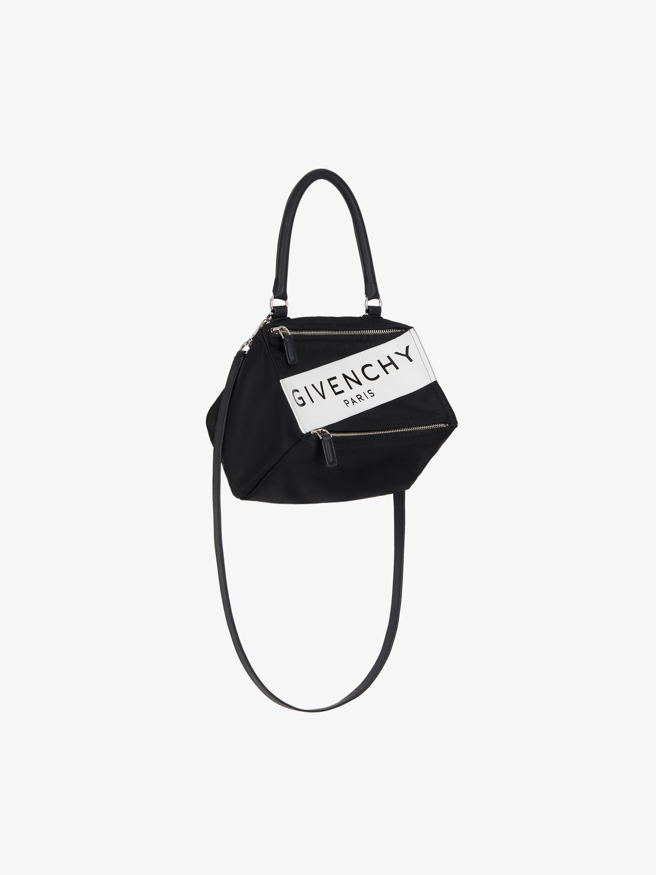 ee1886759cd GIVENCHY PARIS band small Pandora bag in nylon | GIVENCHY Paris