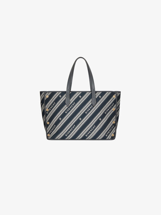 medium-bond-shopper-in-givenchy-chain-jacquard by givenchy