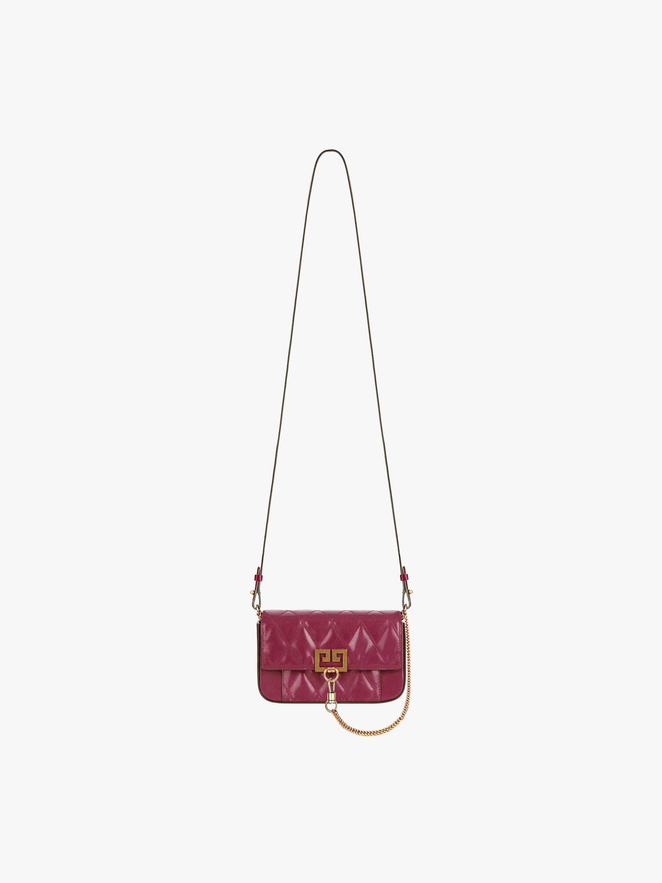 Mini Pocket bag in diamond quilted leather  720e9856ff113
