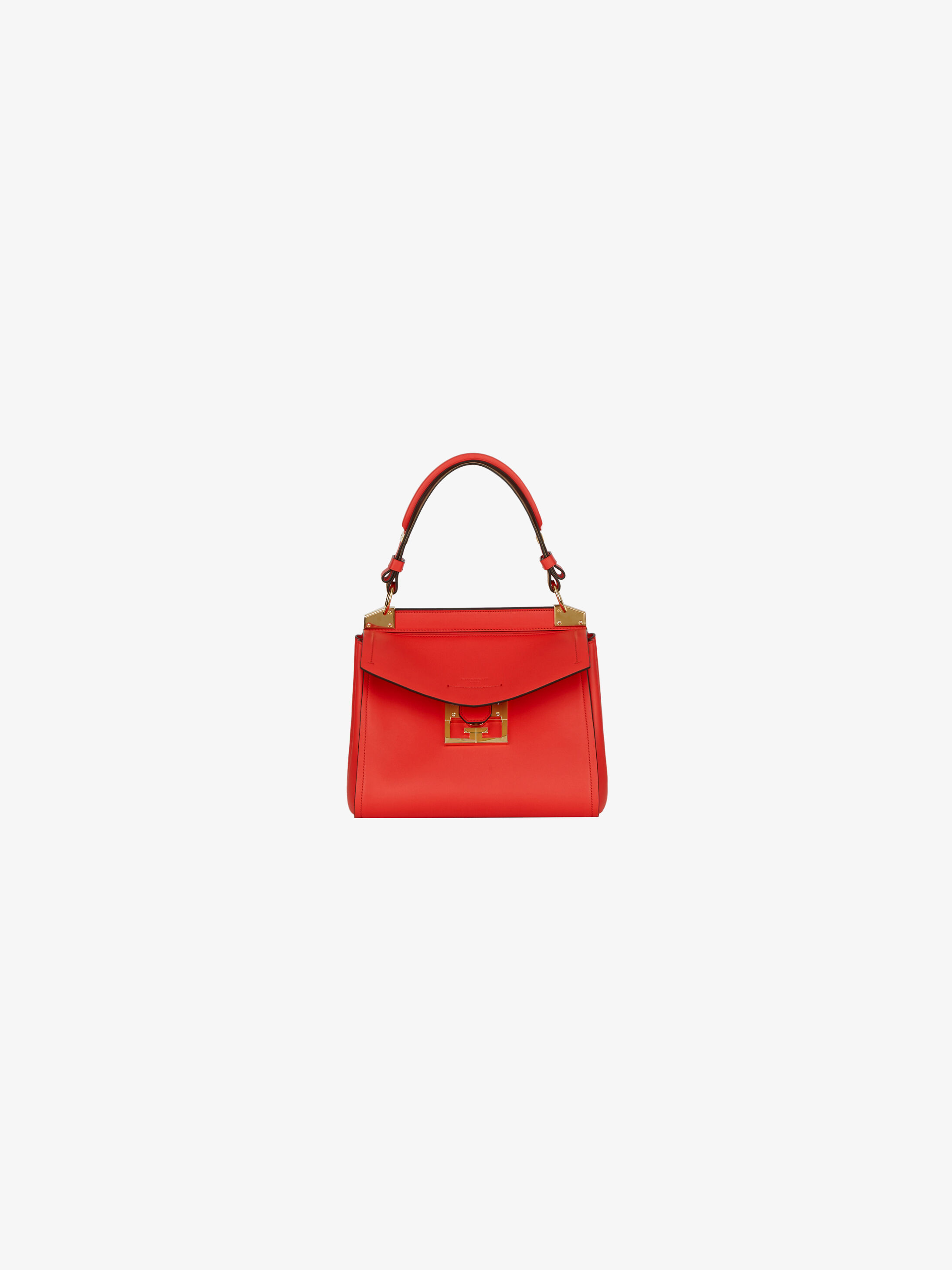 Saks 5th Ave Tote Bag Medium Size Faux Leather Light Blue w//Mini New