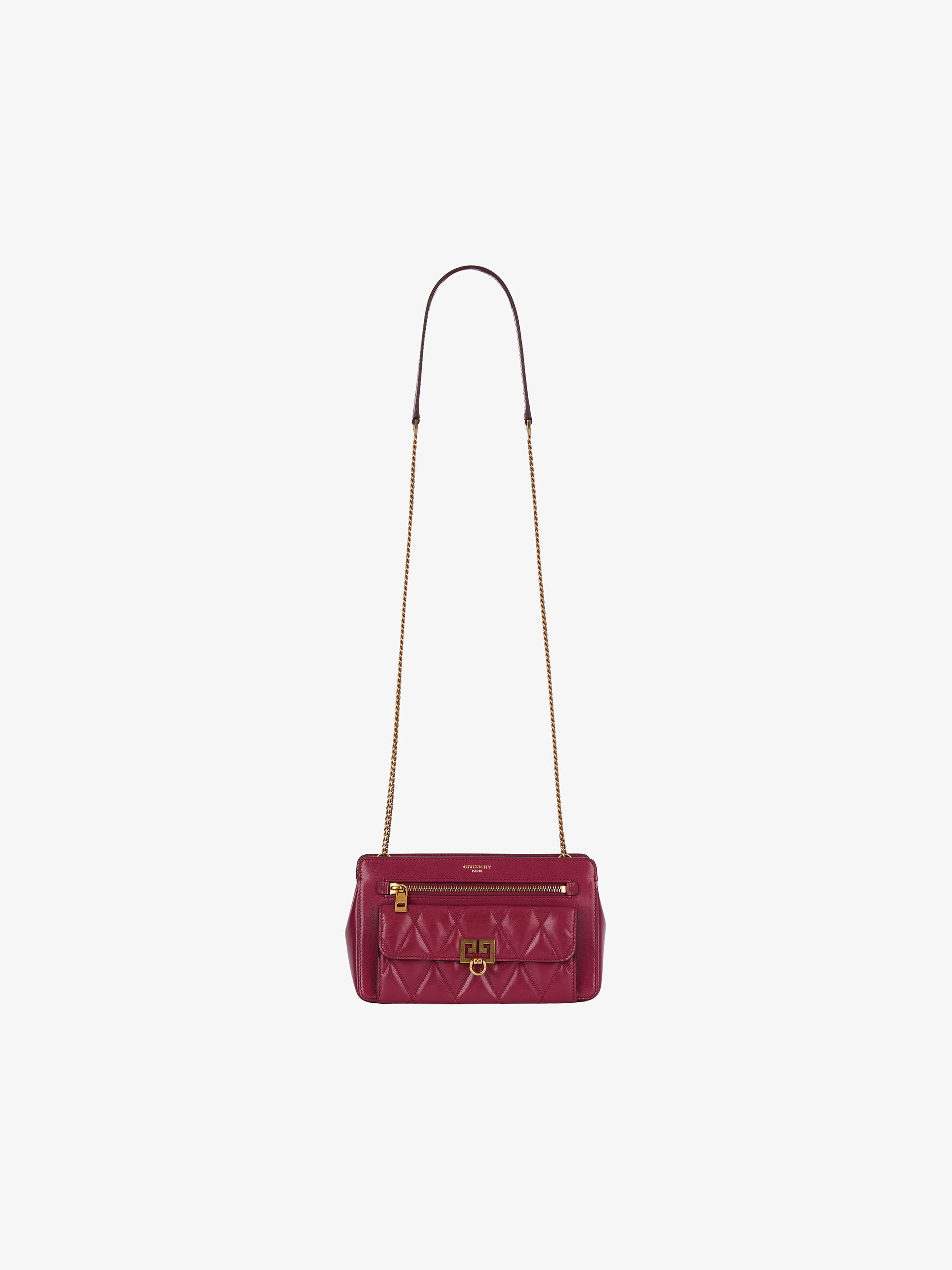 Pocket bag in diamond quilted leather  6dfba7b155fad