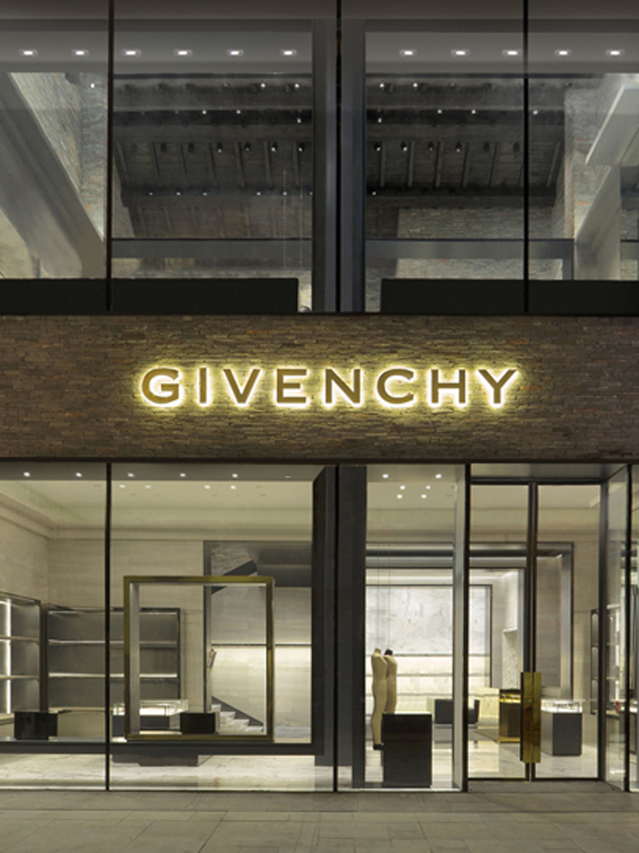 The givenchy flagship store architecture givenchy paris