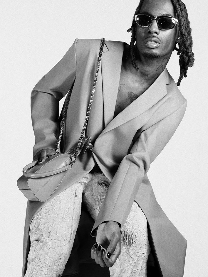 Playboi Carti for the SS21 campaign