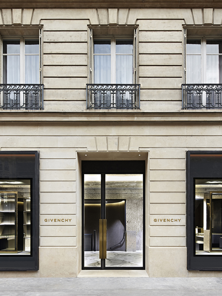Super The Givenchy Flagship store Architecture | GIVENCHY Paris UK76