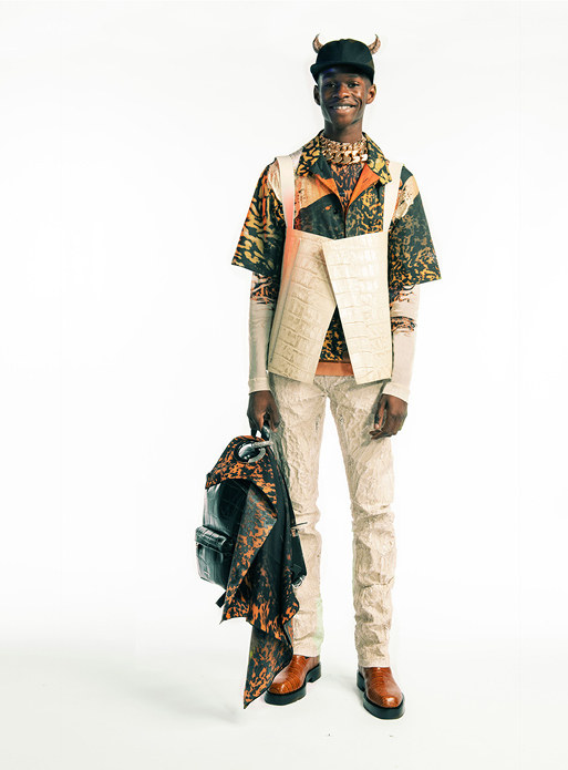 Spring Summer 2021 collection Look 37