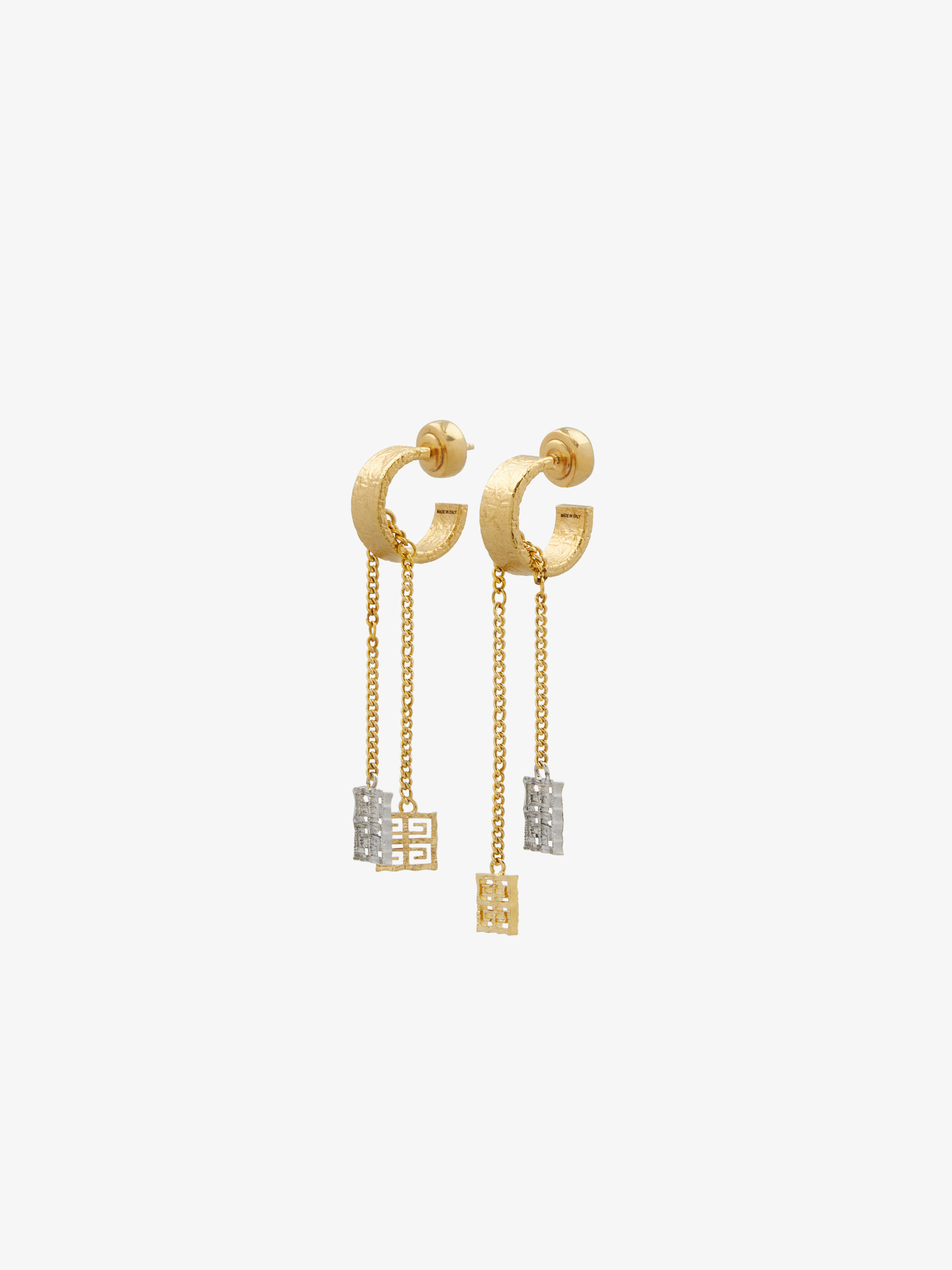 4G pendant earrings