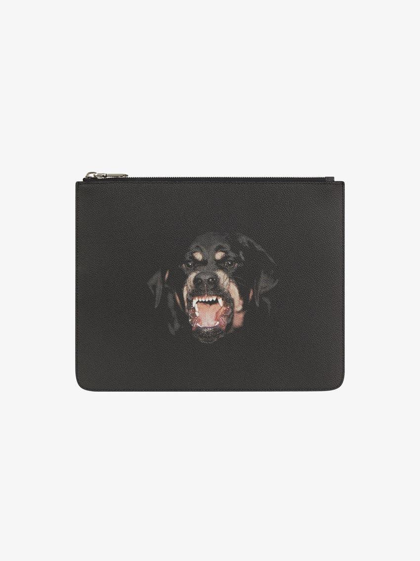 Rottweiler大号拉链手拿包