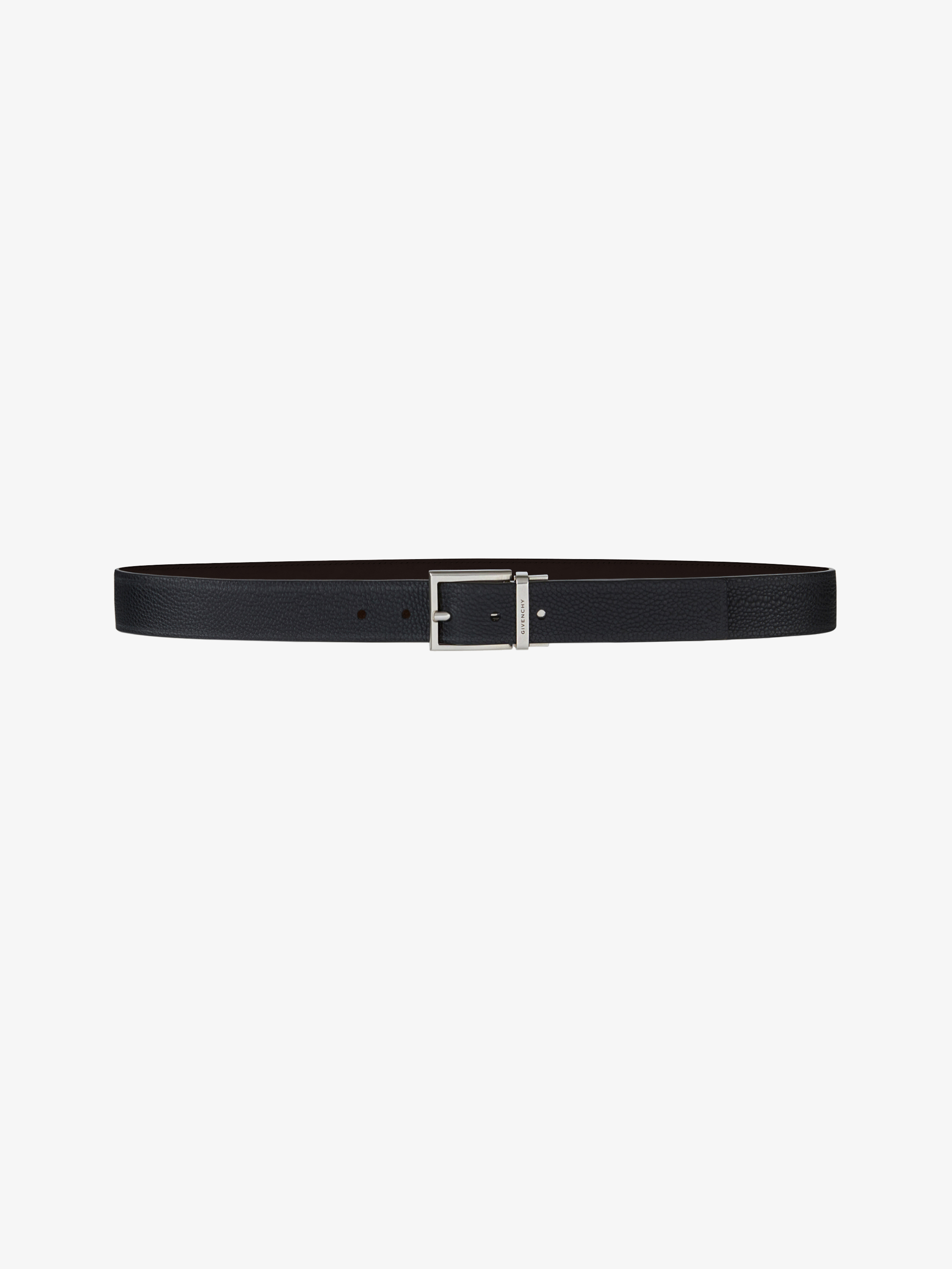 Classic reversible belt in leather