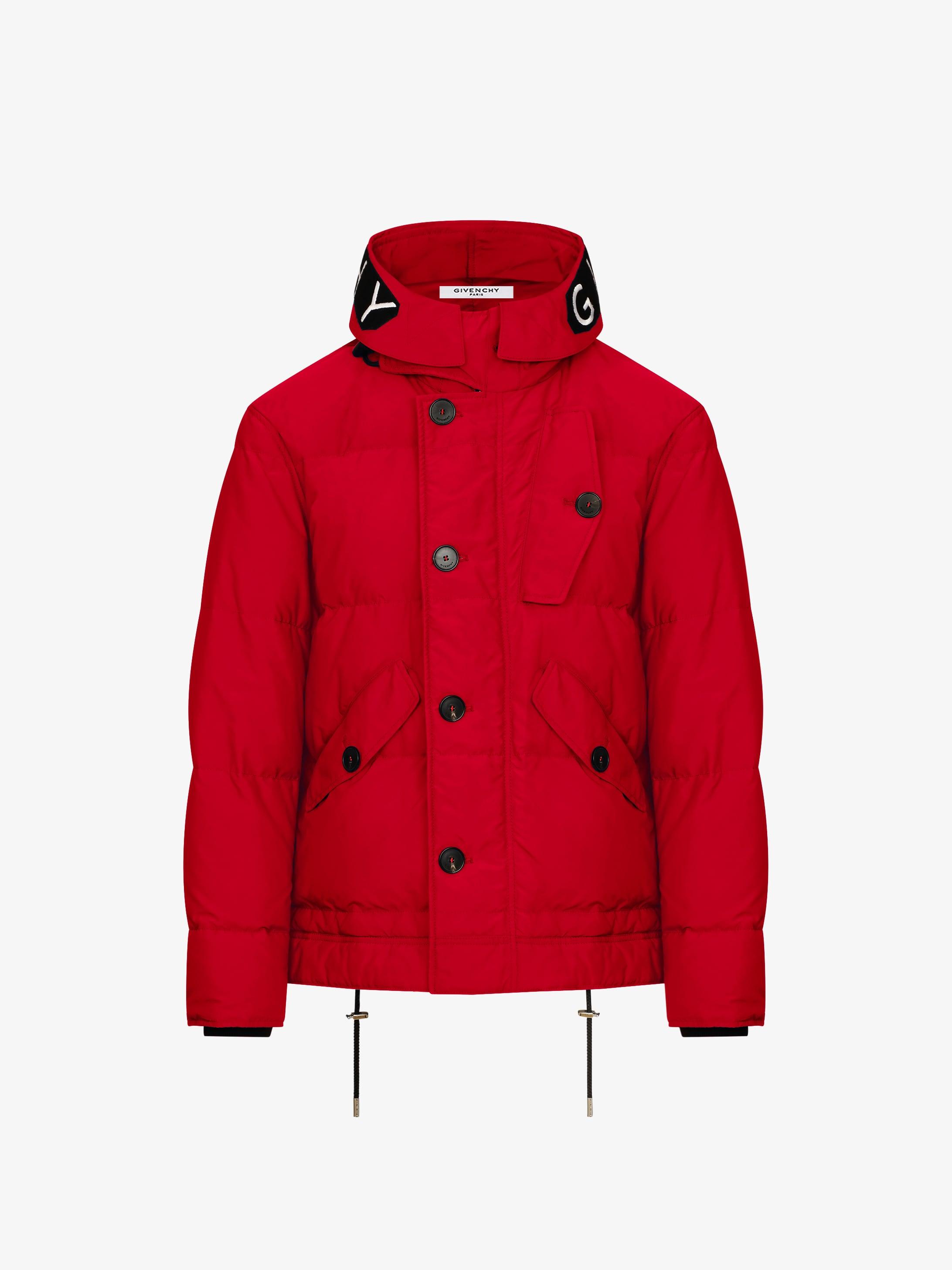 GIVENCHY hooded puffa jacket