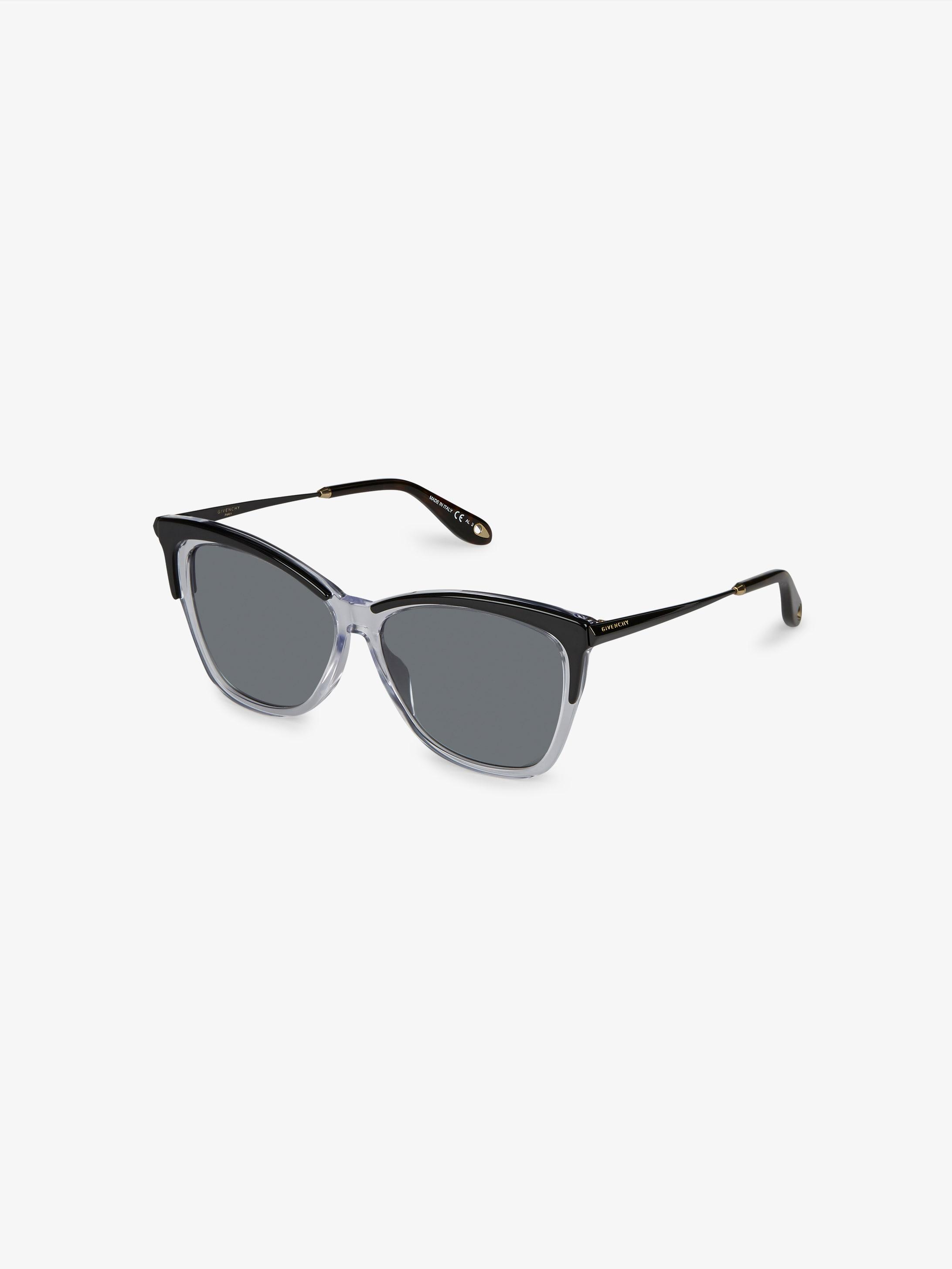 Acetate and metal sunglasses