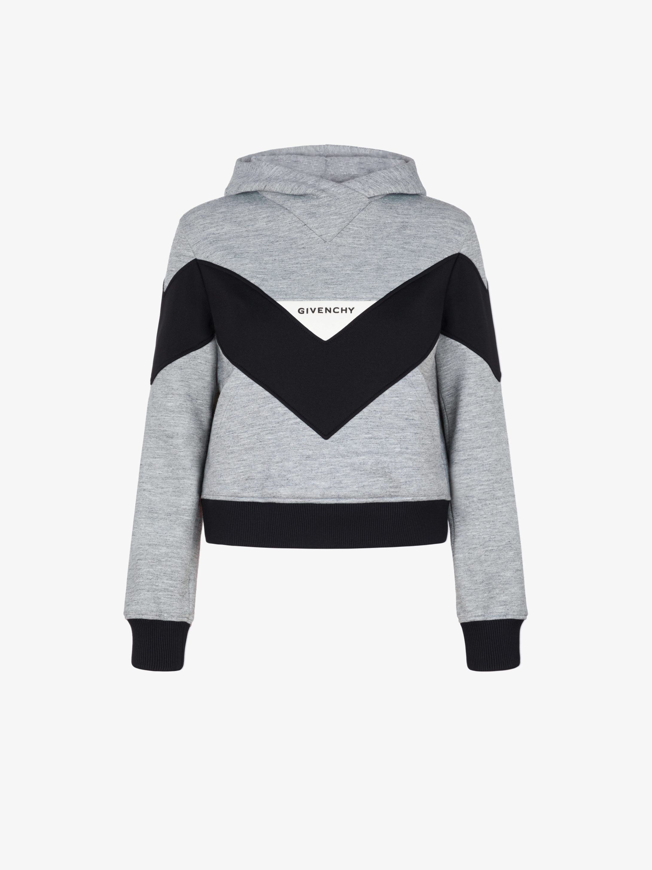 GIVENCHY sweatshirt with contrasting chevron band