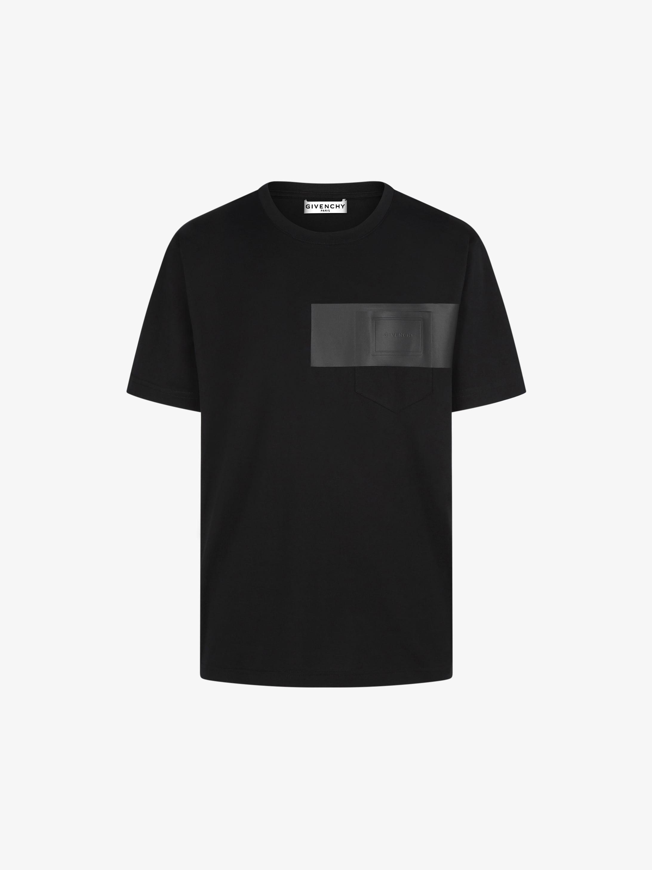 T-shirt à patch GIVENCHY