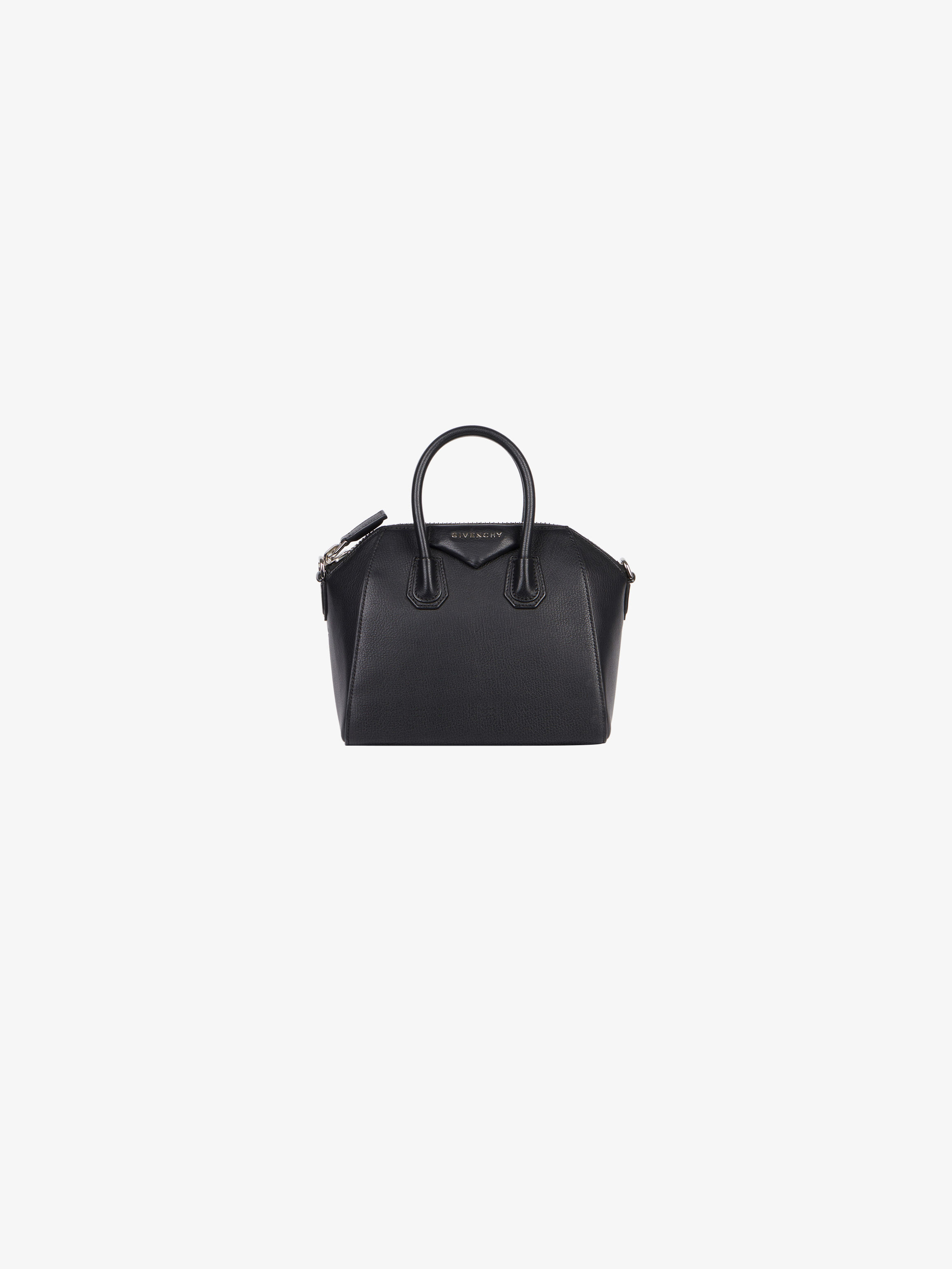 c2529ae0d38f Mini Antigona bag in grained leather