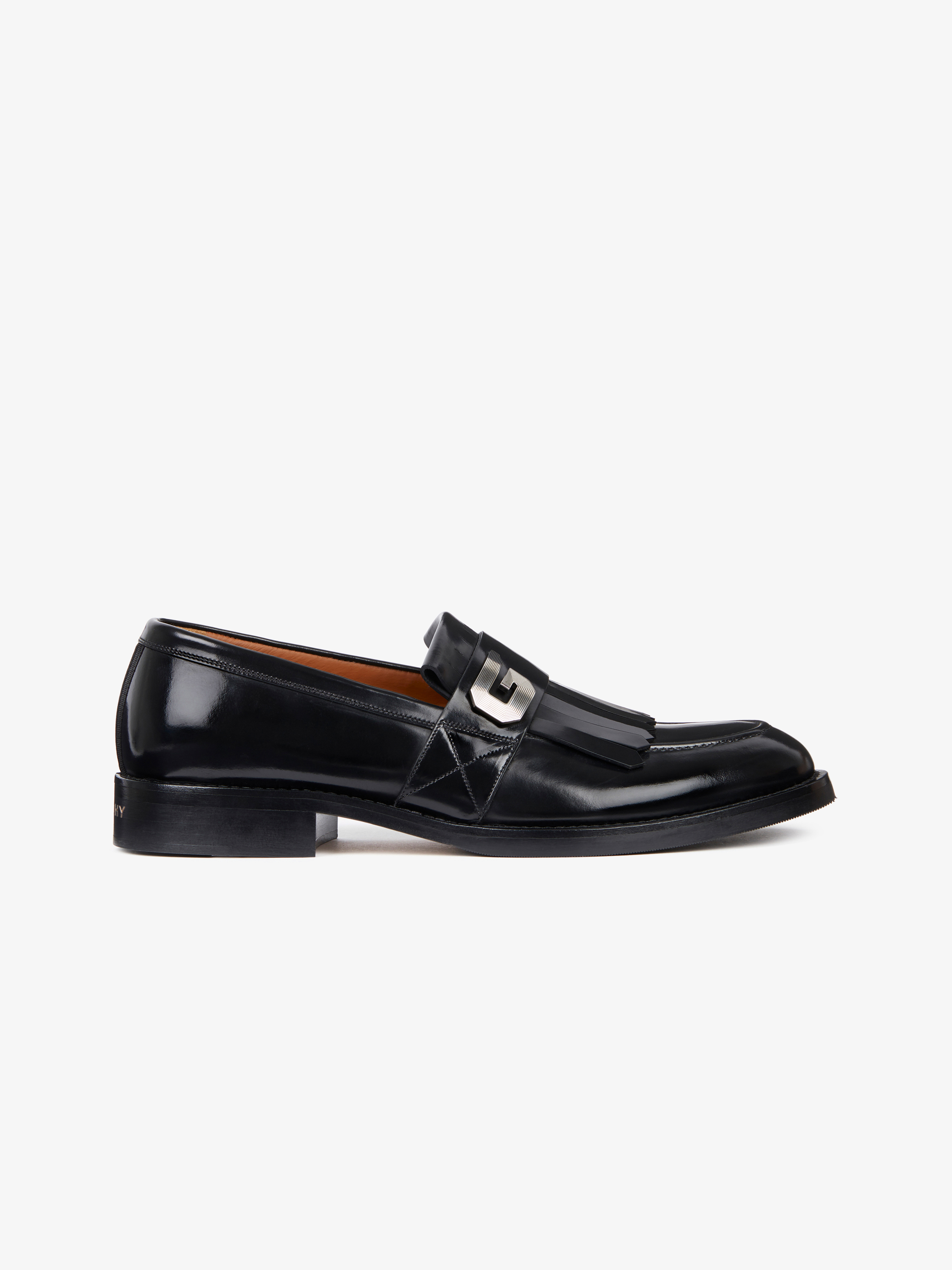 G buckle penny loafer