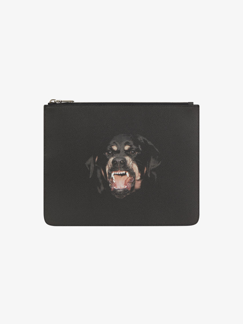 Rottweiler Printed pouch