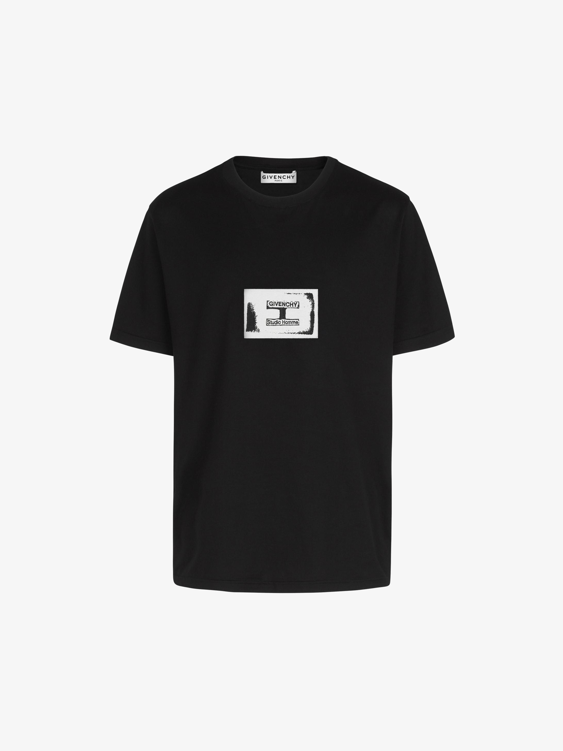 T-shirt à patch GIVENCHY Studio Homme