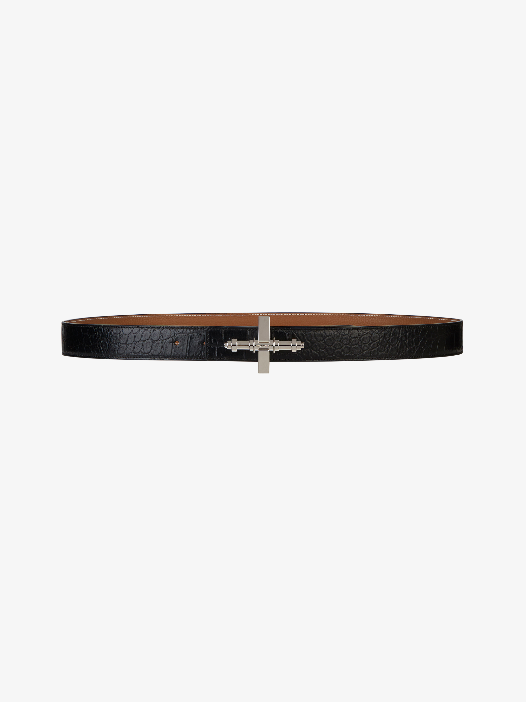 Reversible leather Obsedia belt