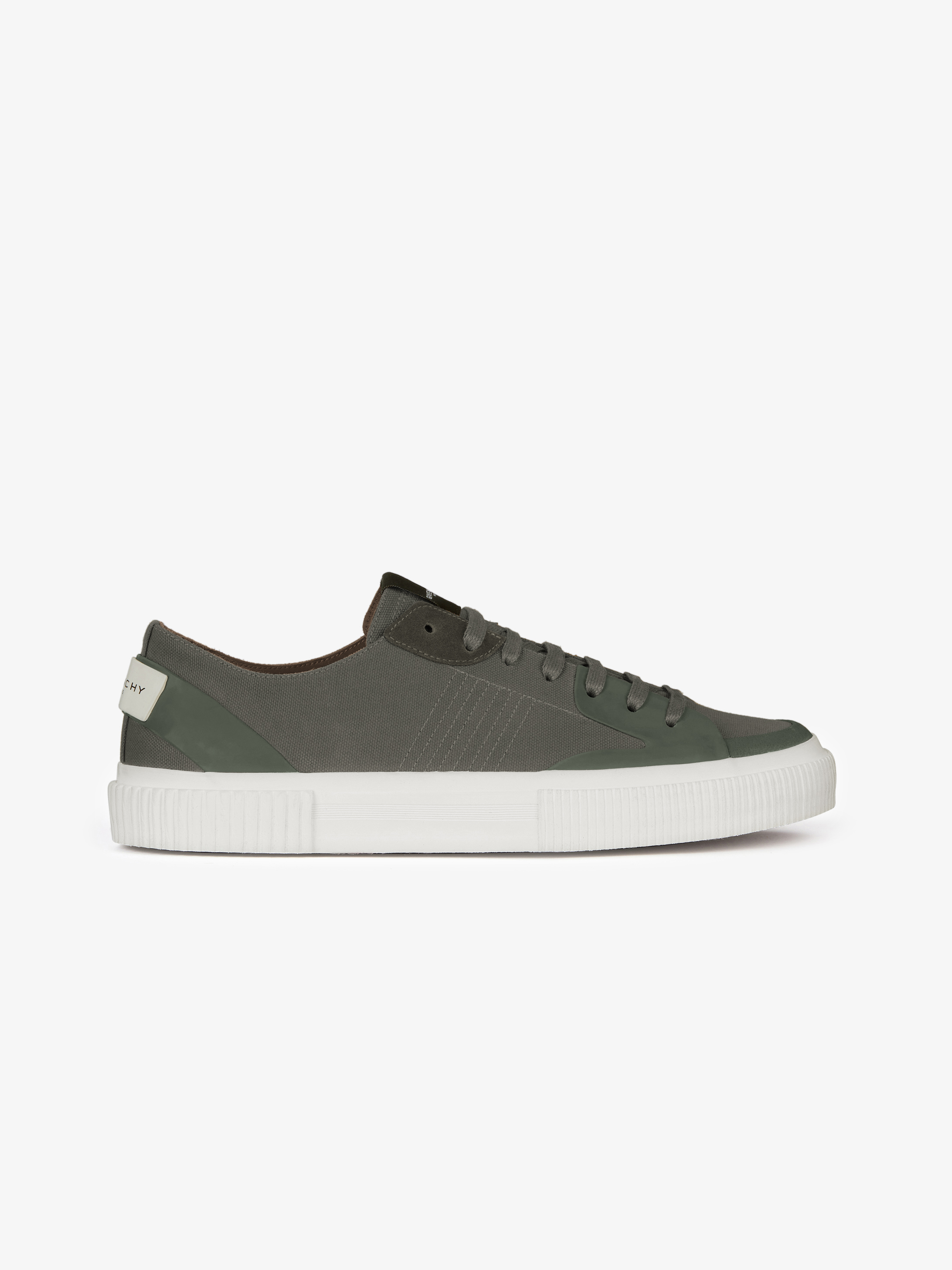 Low sneakers in canvas
