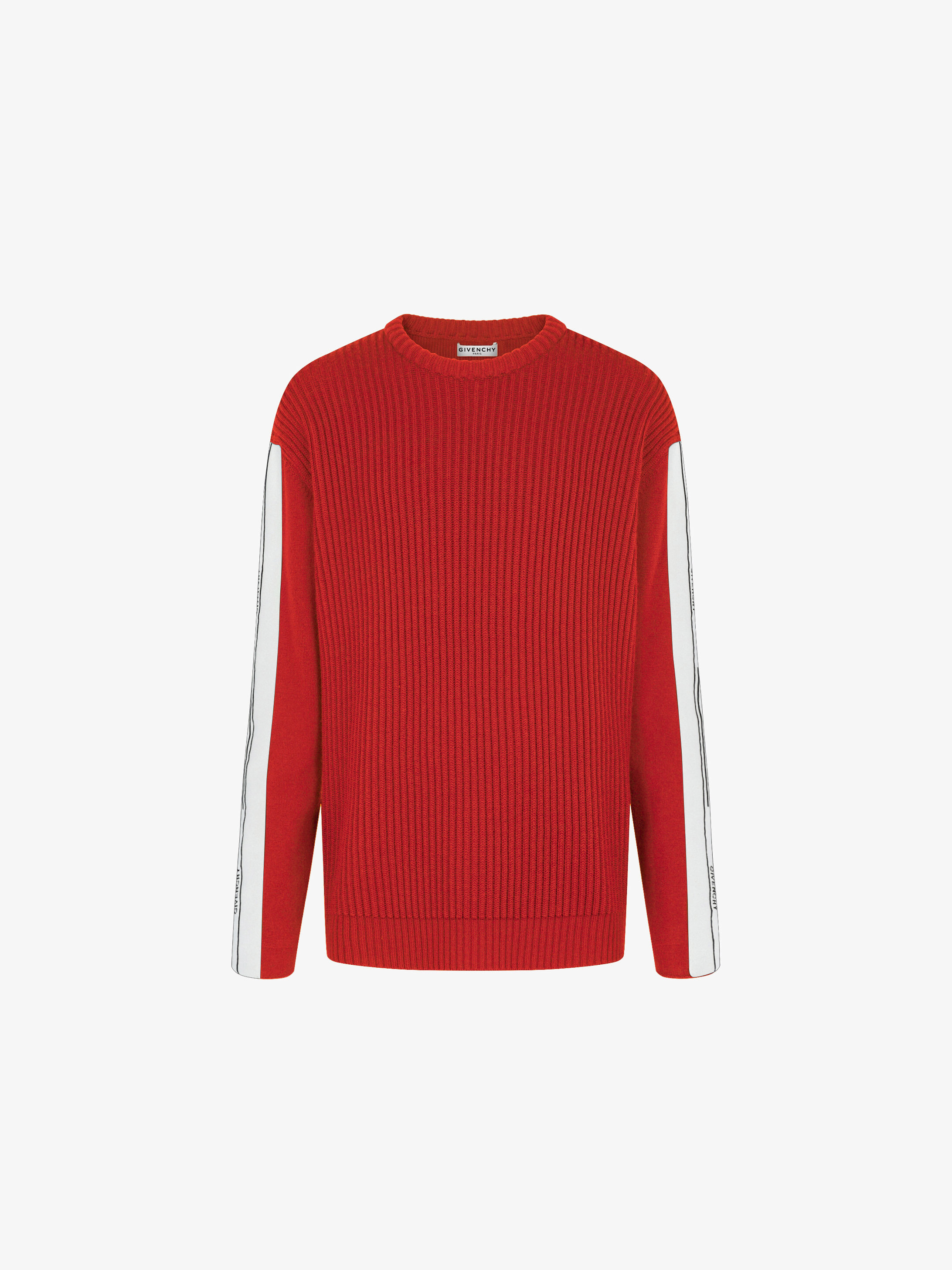 GIVENCHY band heavy sweater