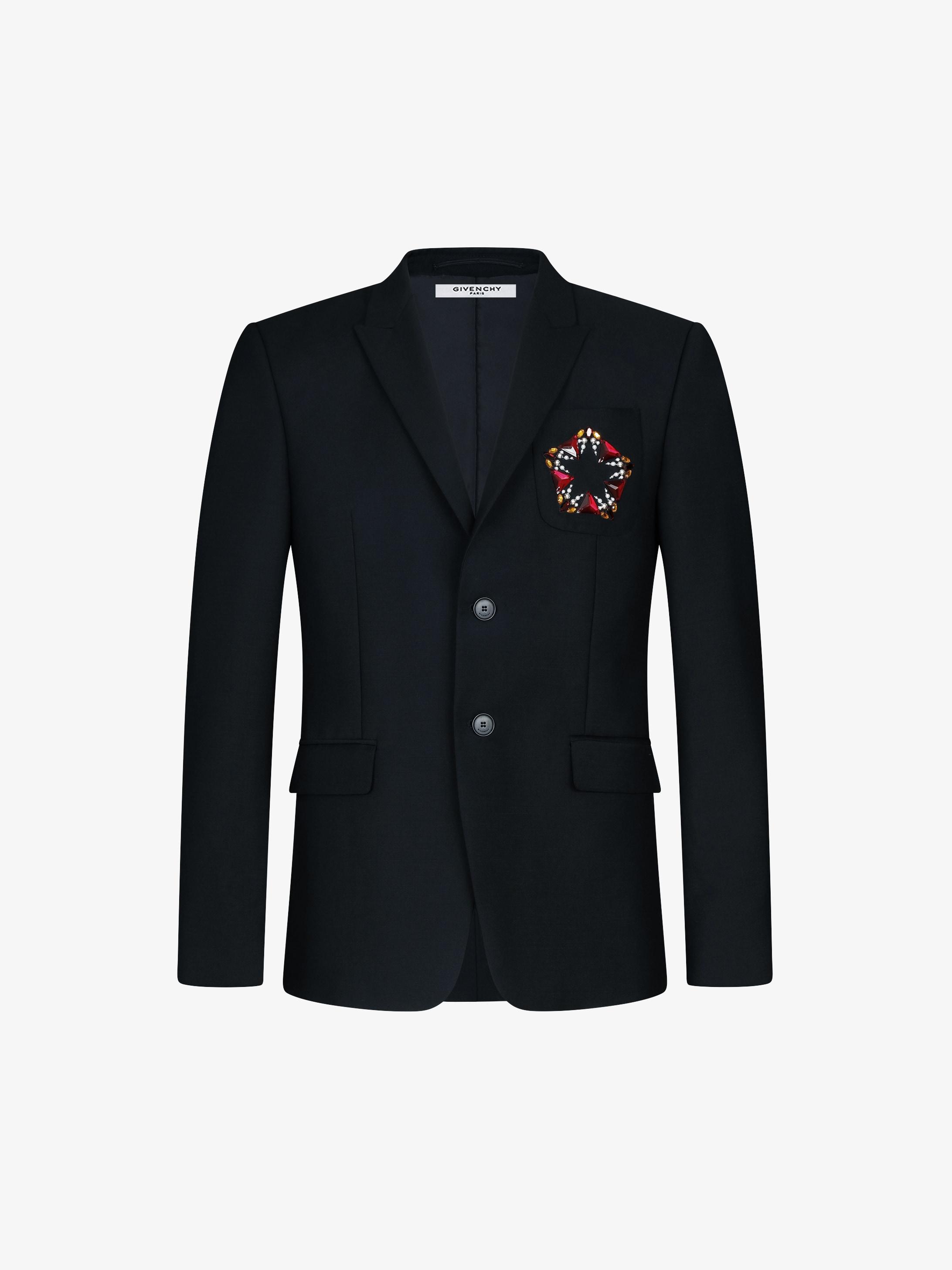 Jewellery embroidered jacket