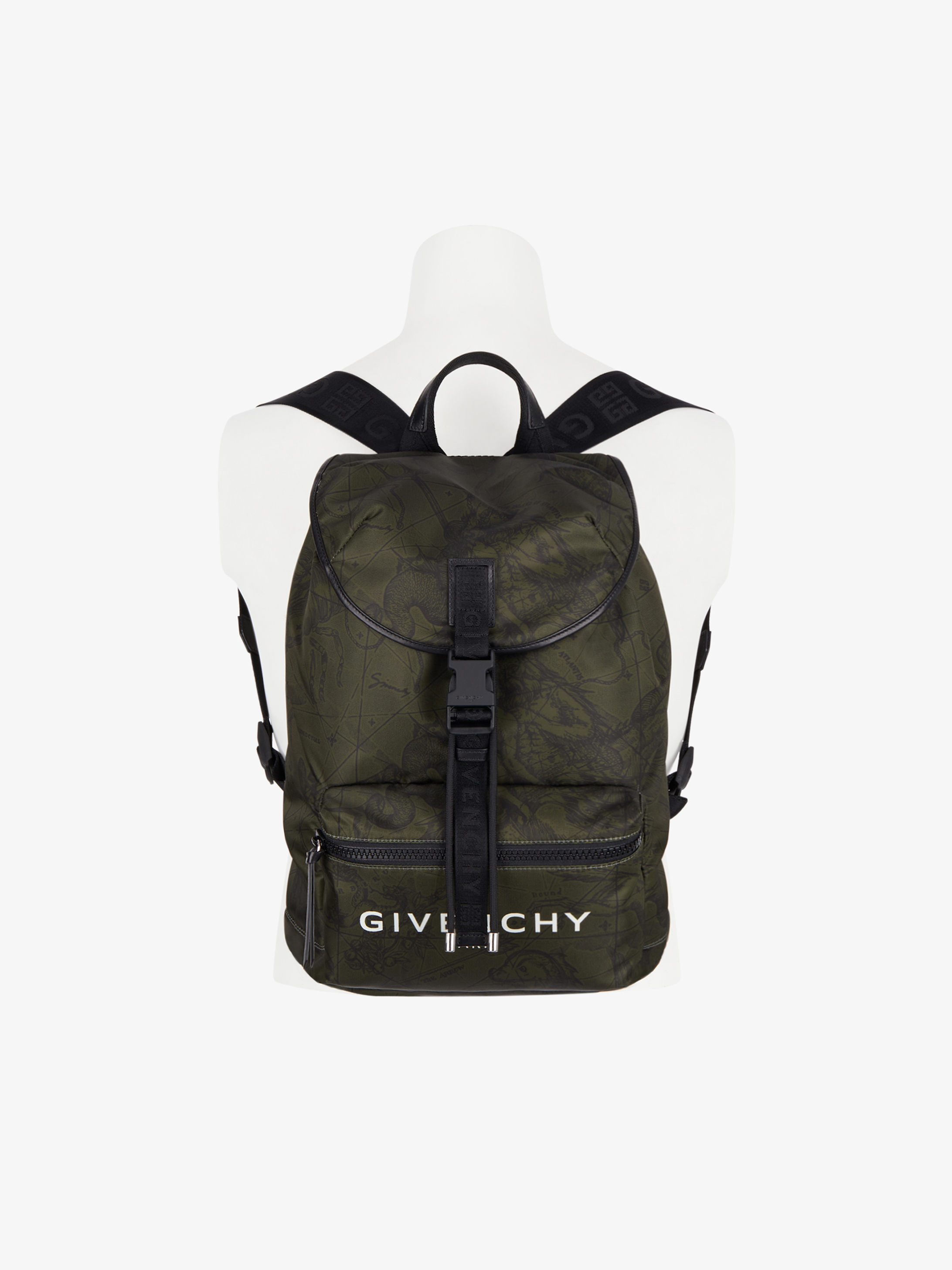 GIVENCHY backpack in astral printed nylon