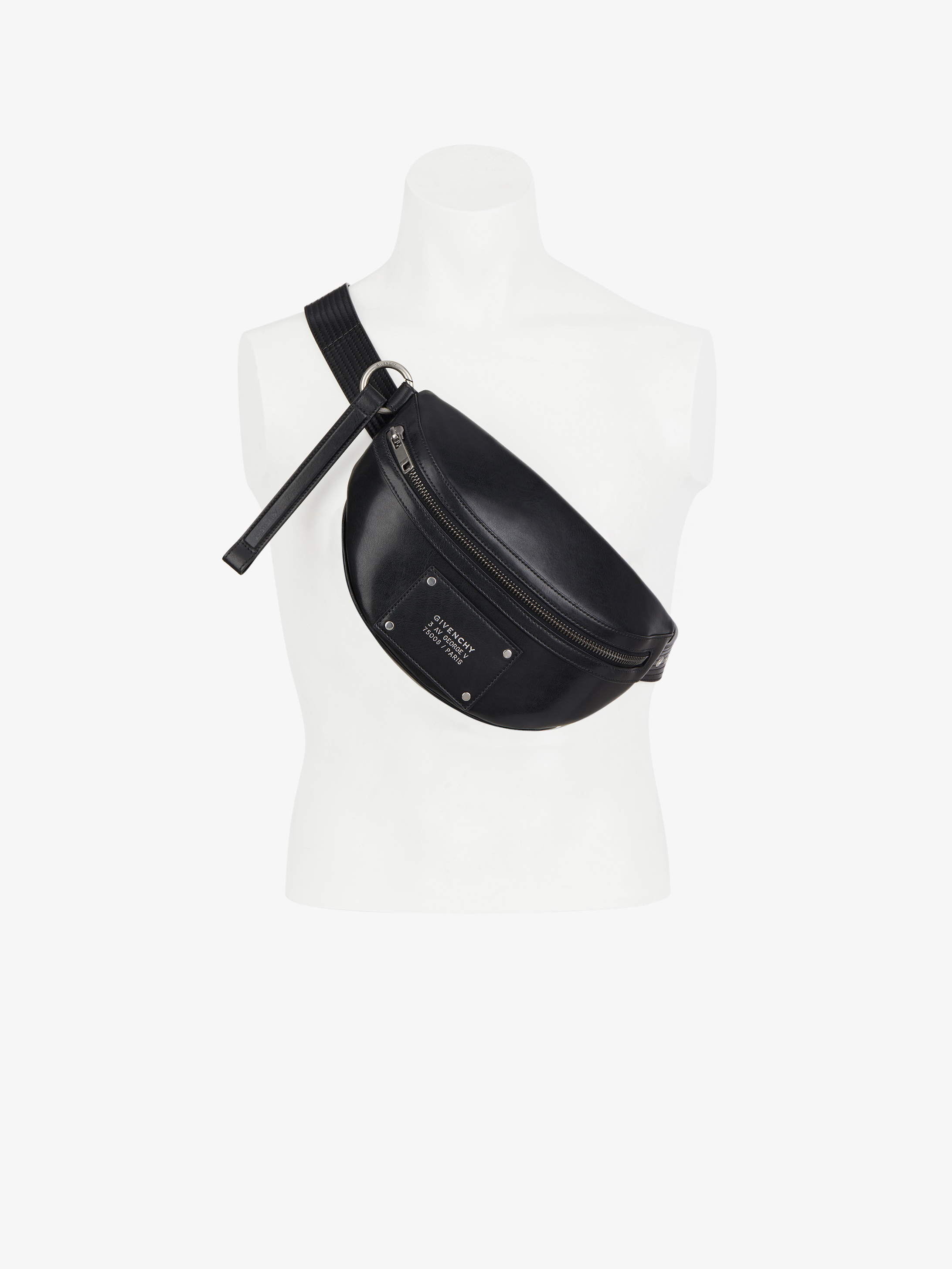 GIVENCHY Tag  bum bag  in smooth leather