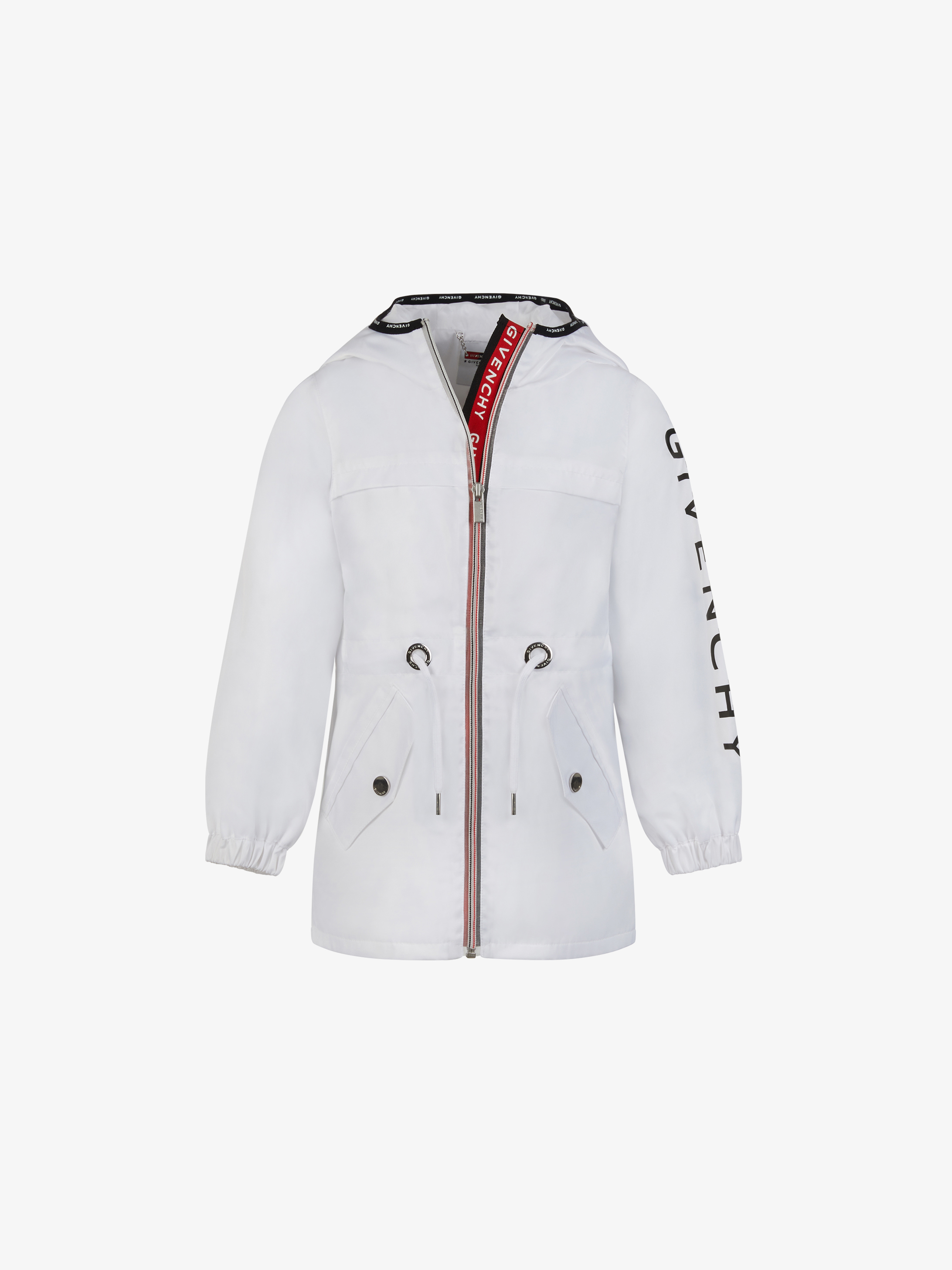 GIVENCHY hooded windbreaker in nylon