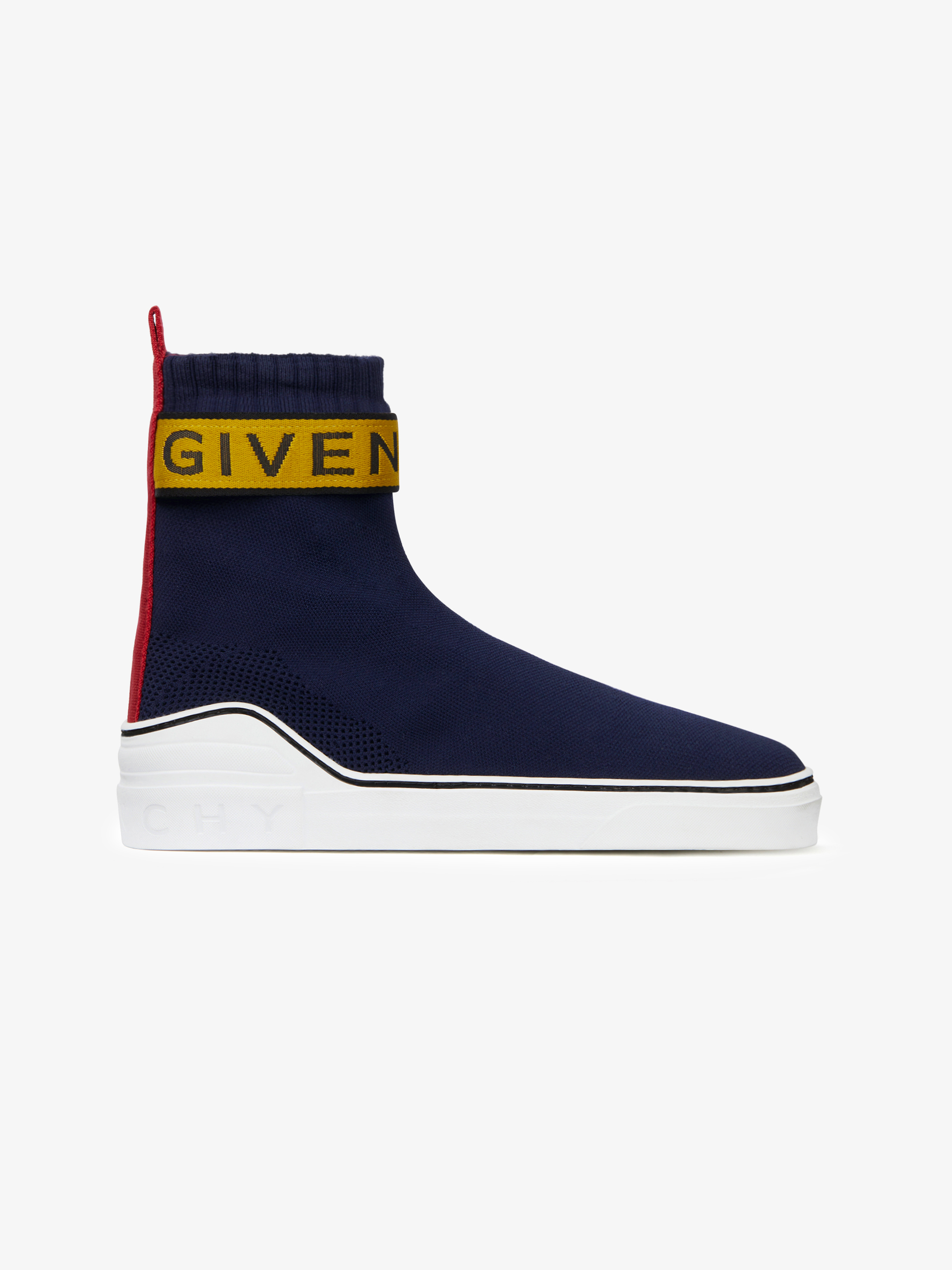 GIVENCHY 4G webbing knitted mid sneakers