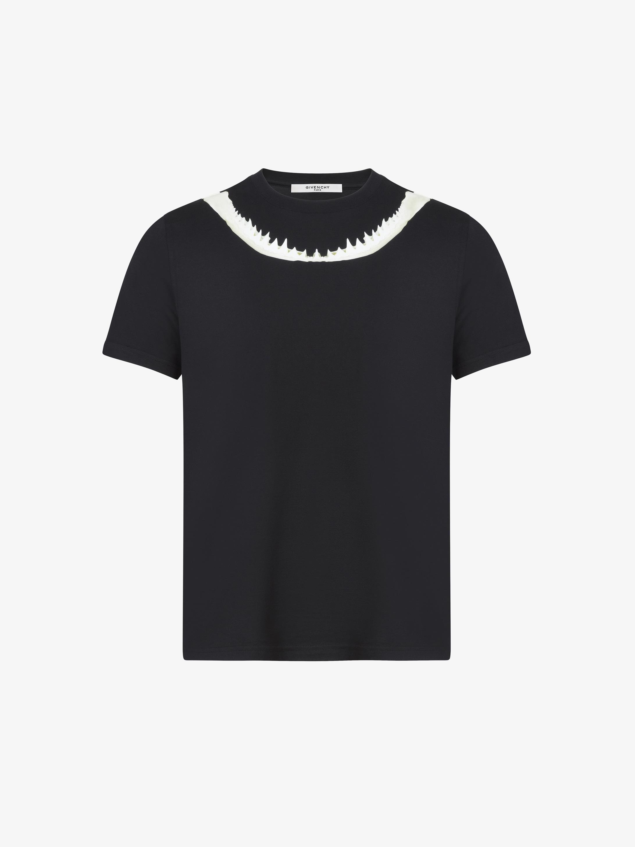 T-shirt imprimé machoires de requin