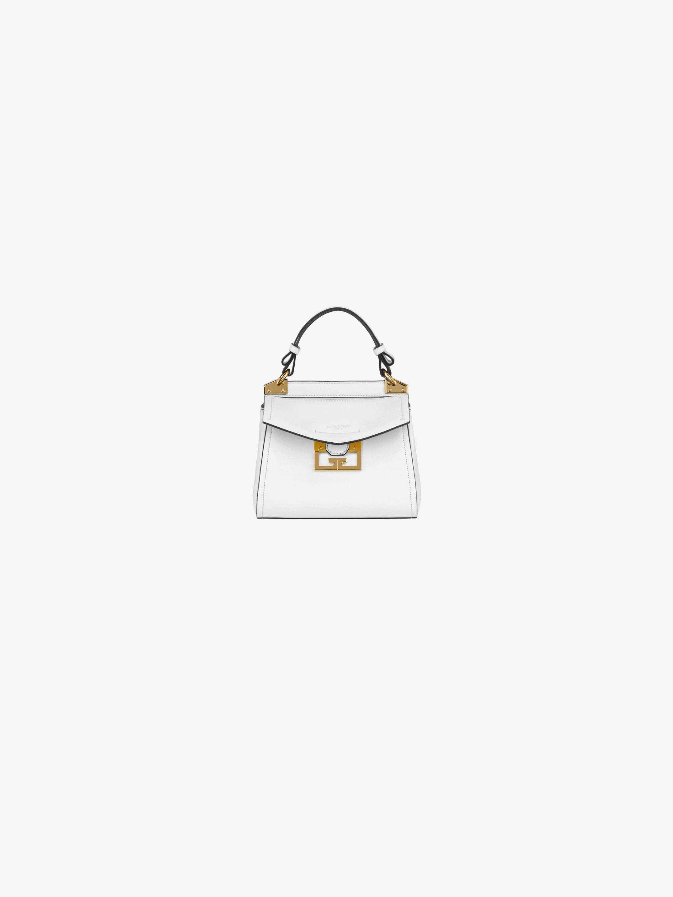 Mini Mystic bag in soft leather