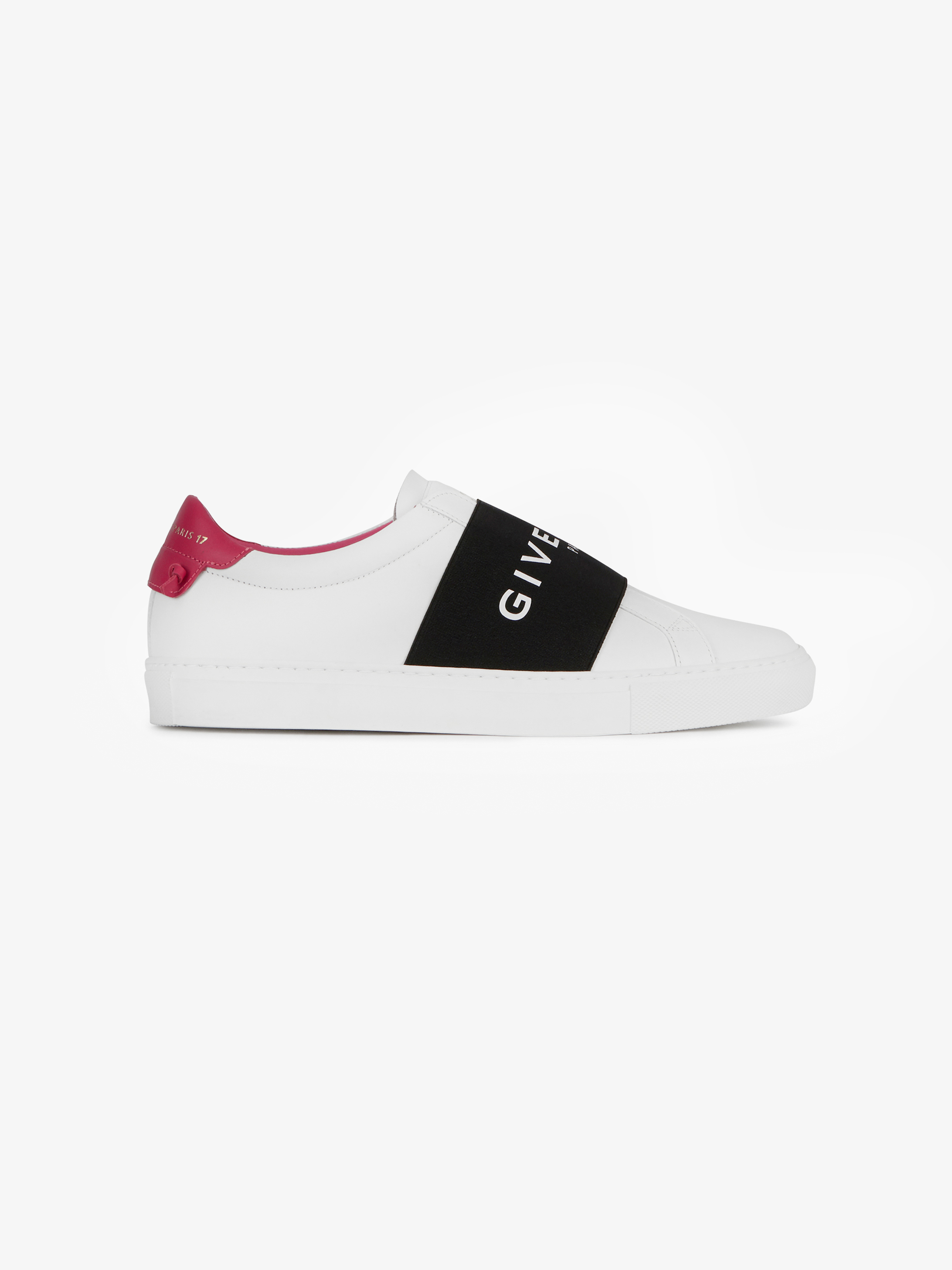 Leather sneakers with GIVENCHY PARIS