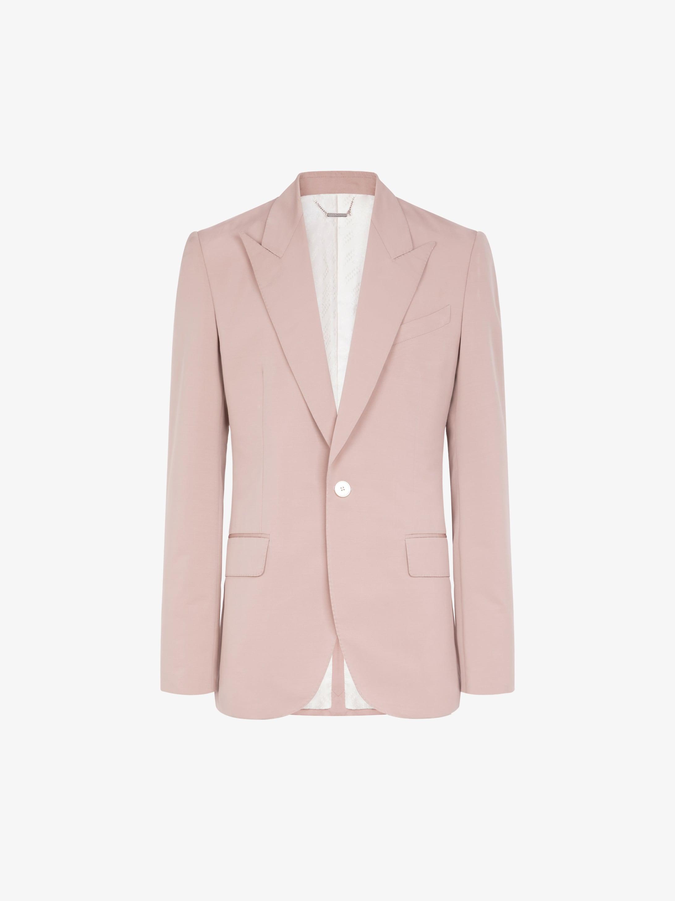 Jacket in textured wool