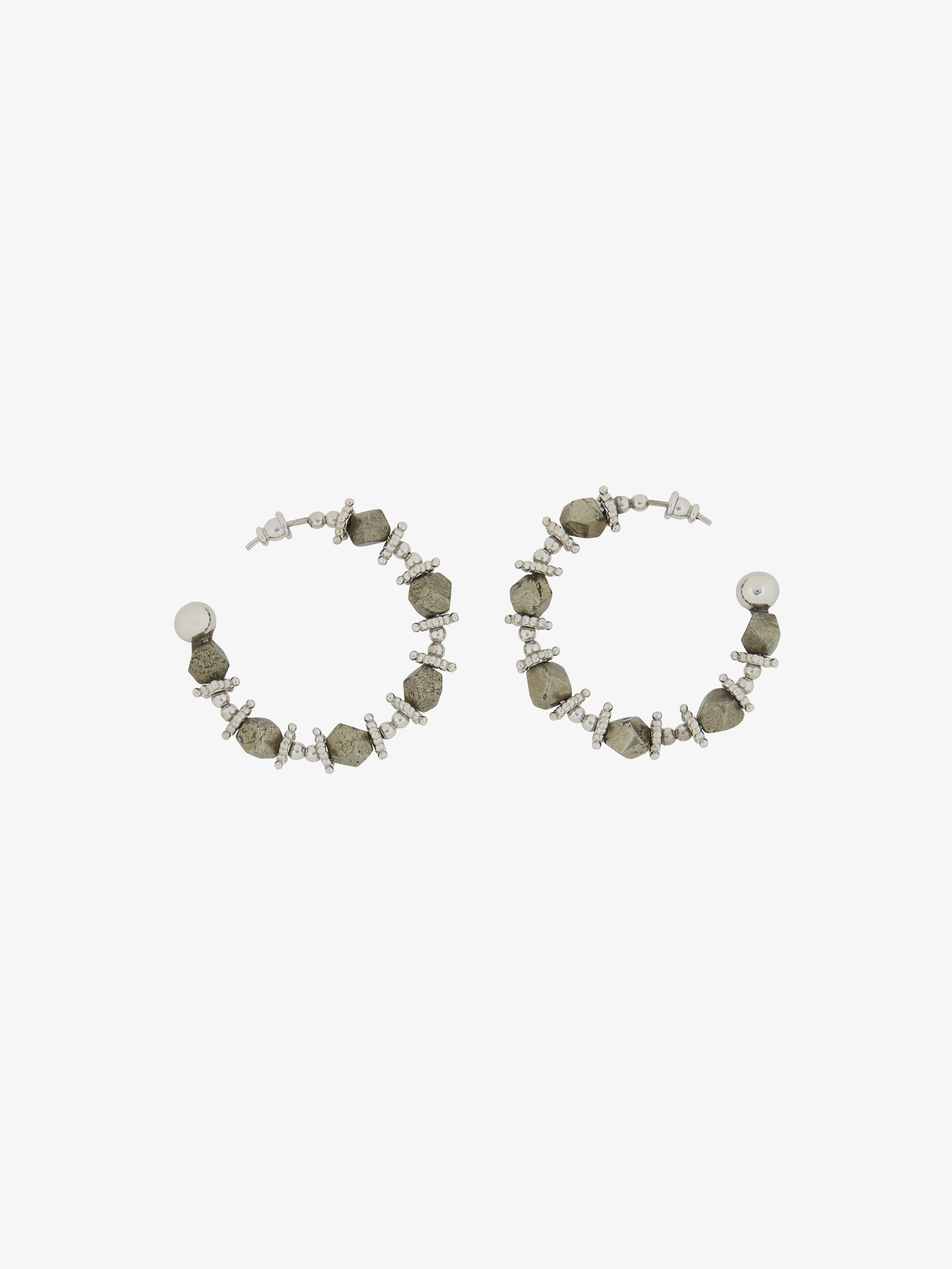 Rosario hoop earrings