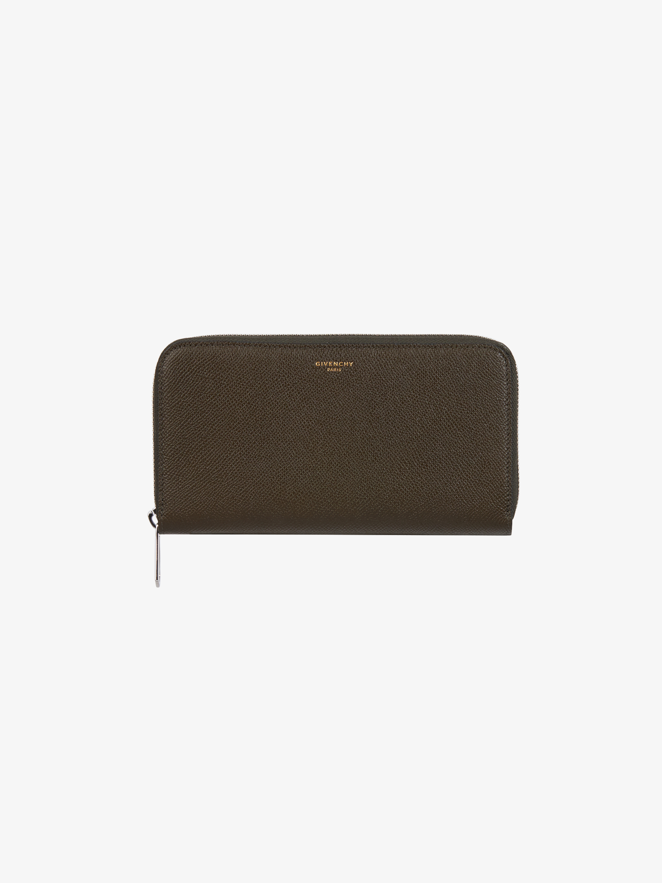 Eros long zipped wallet in leather