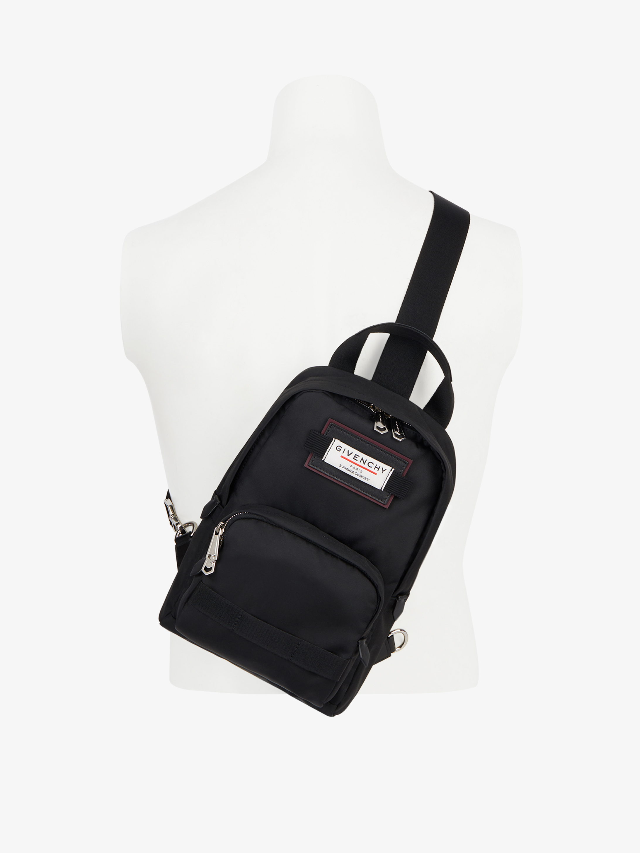 Small GIVENCHY DOWNTOWN cross body bag in nylon