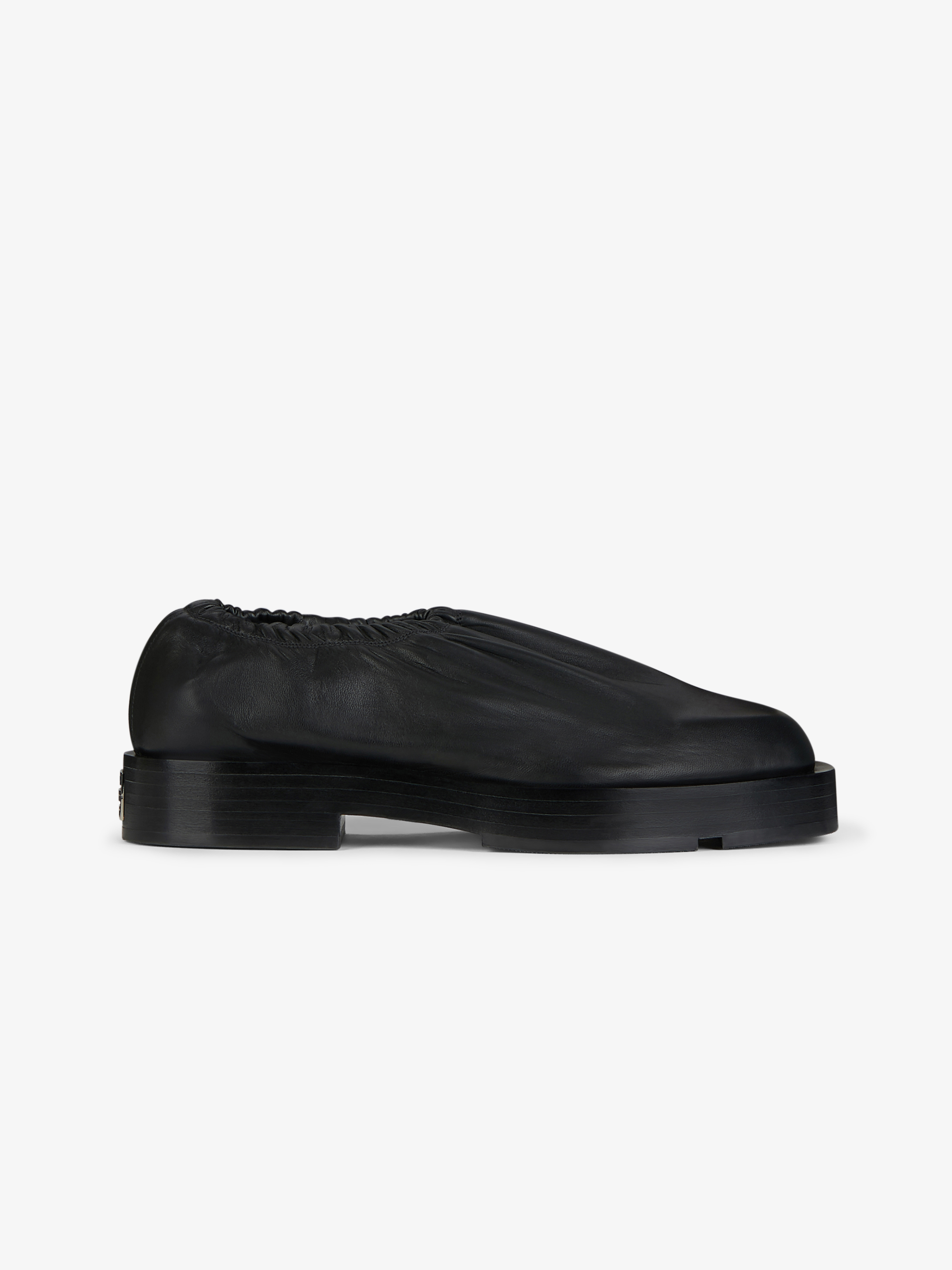 Slip-on in smooth leather