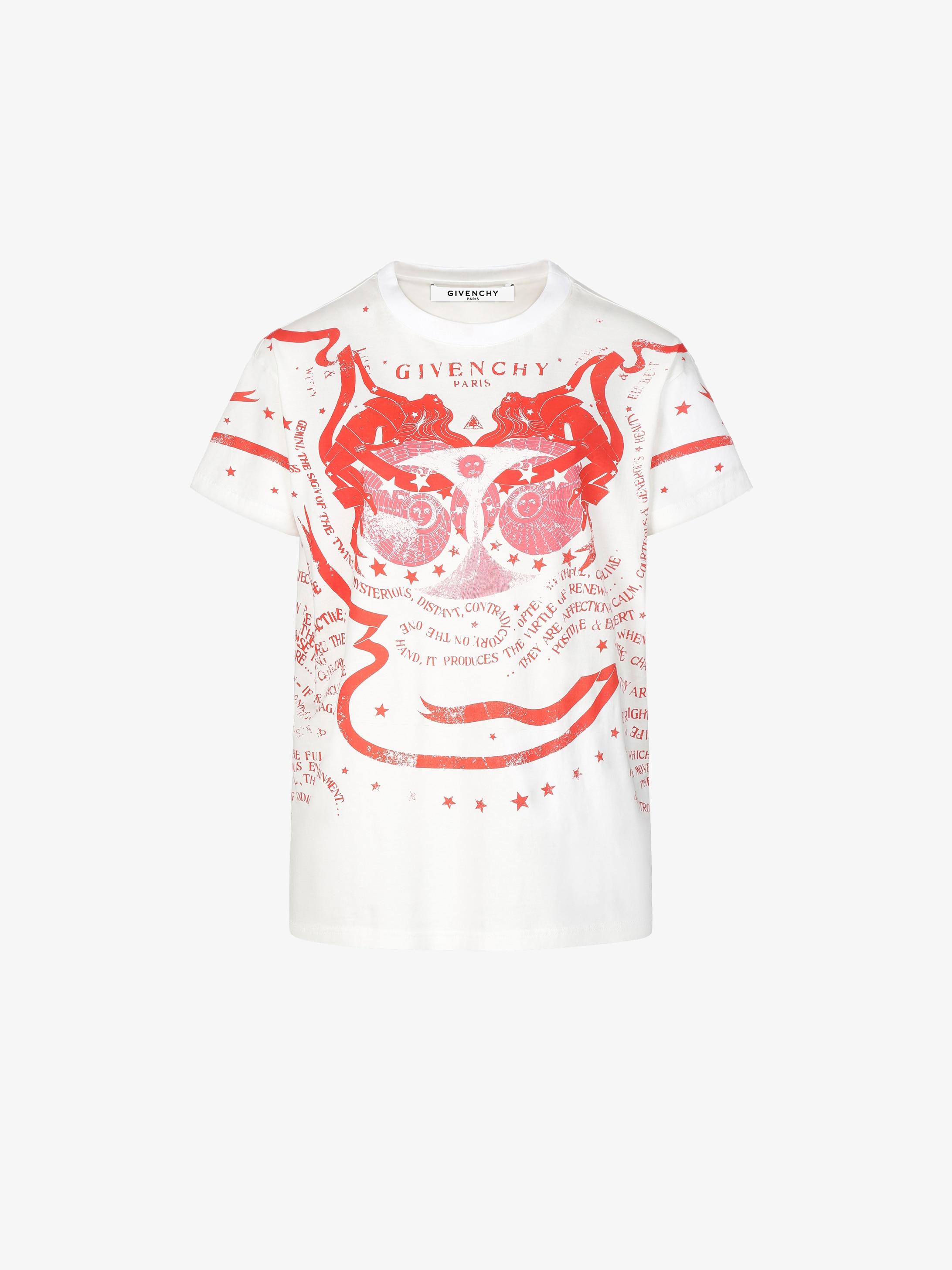 Gemini printed oversized t-shirt