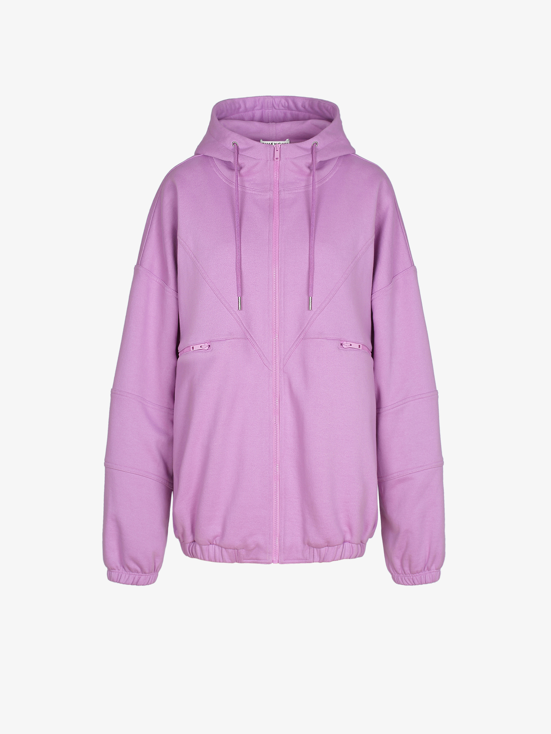 GIVENCHY PARIS zipped hoodie