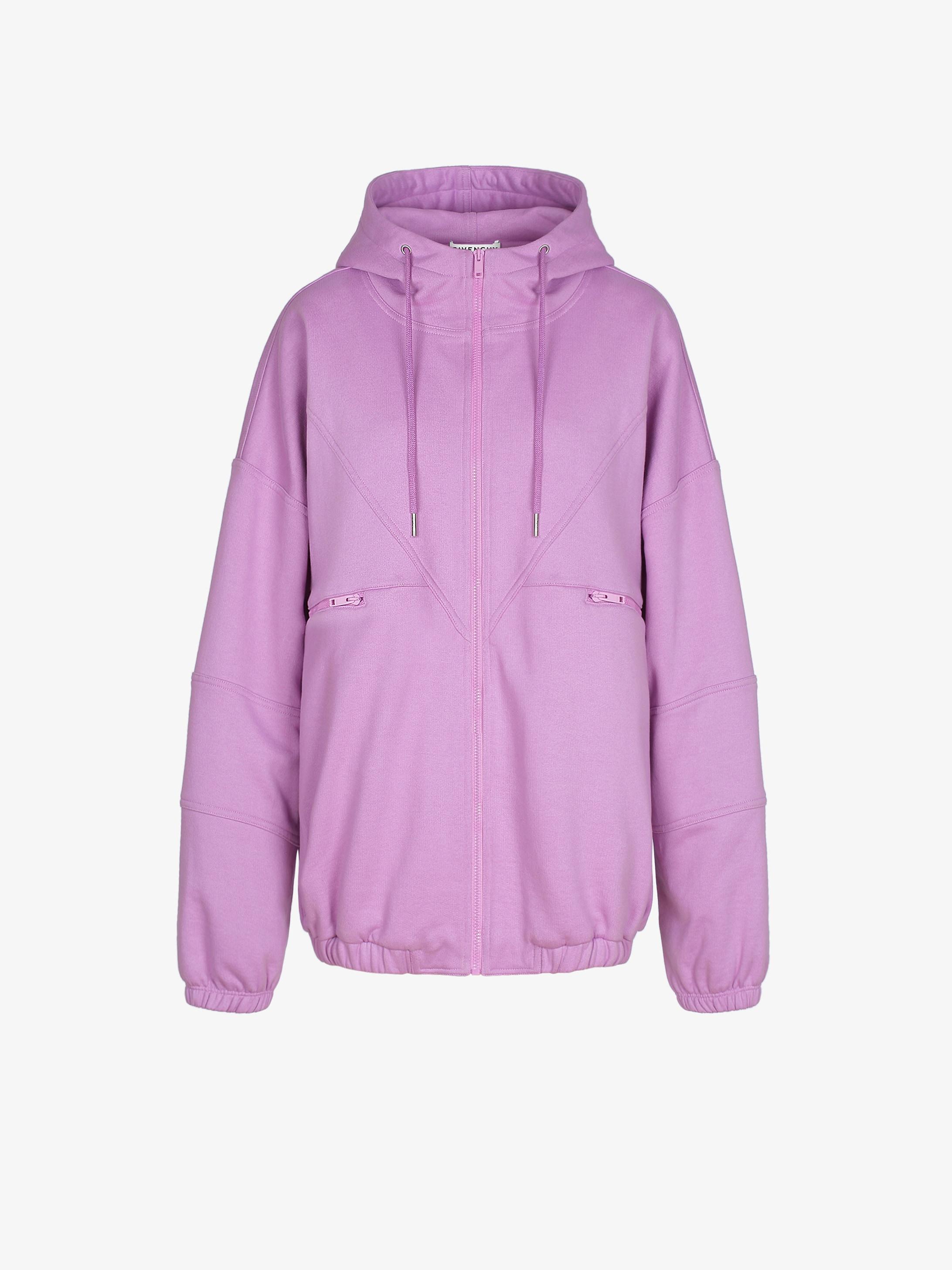 Sweatshirt à capuche zippé GIVENCHY PARIS