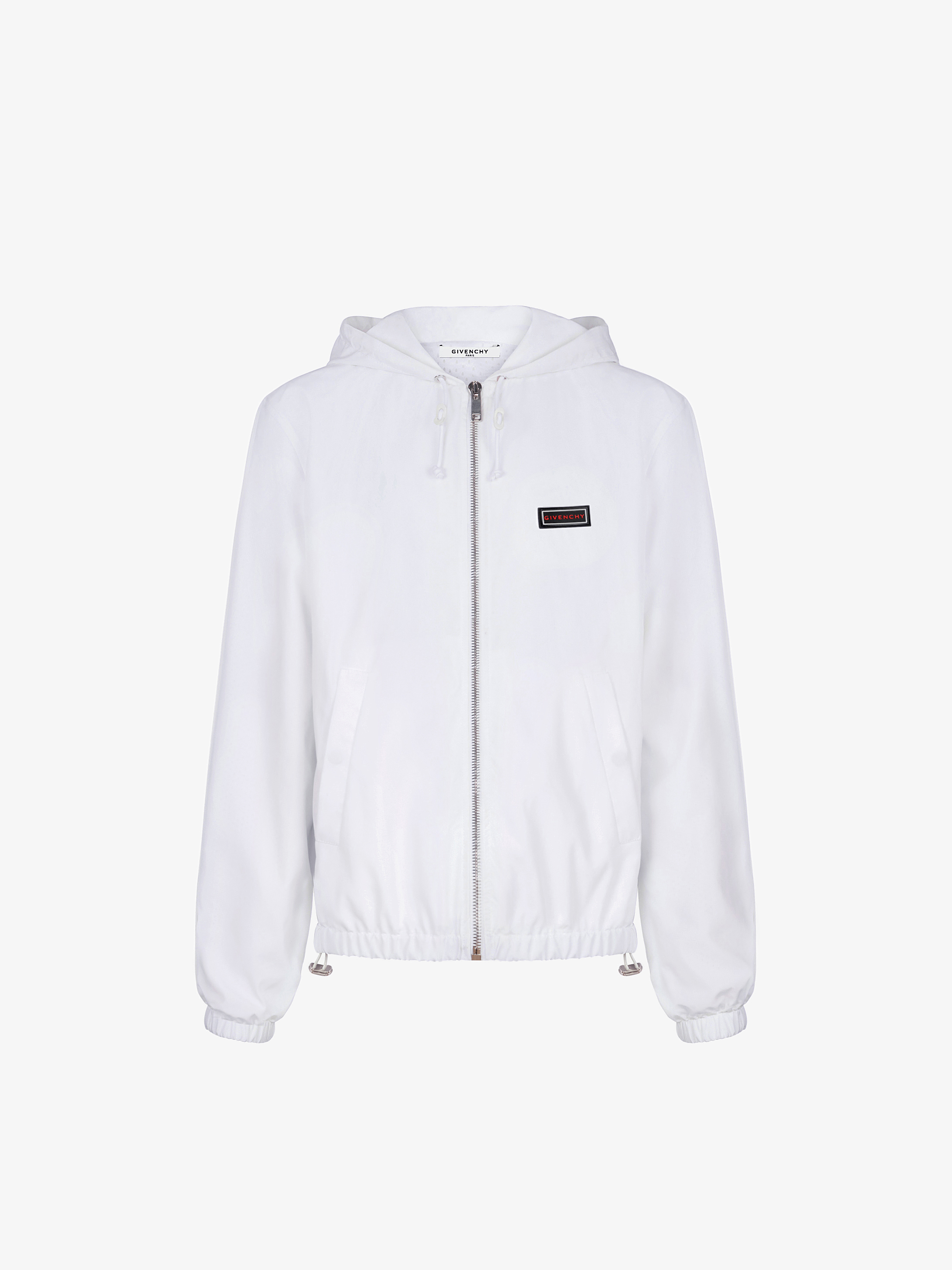 GIVENCHY patch windbreaker