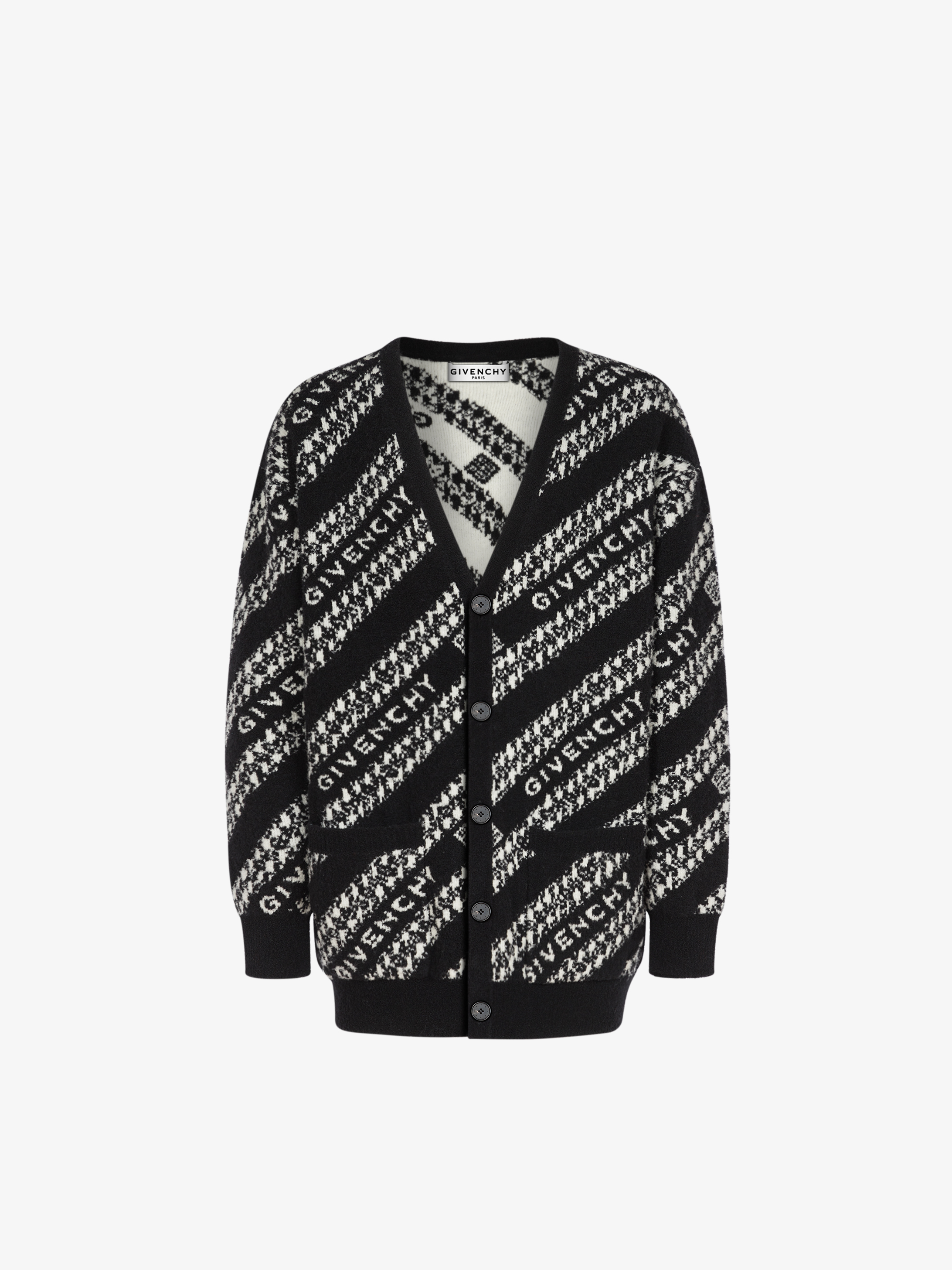 Cardigan GIVENCHY Chaîne in jacquard