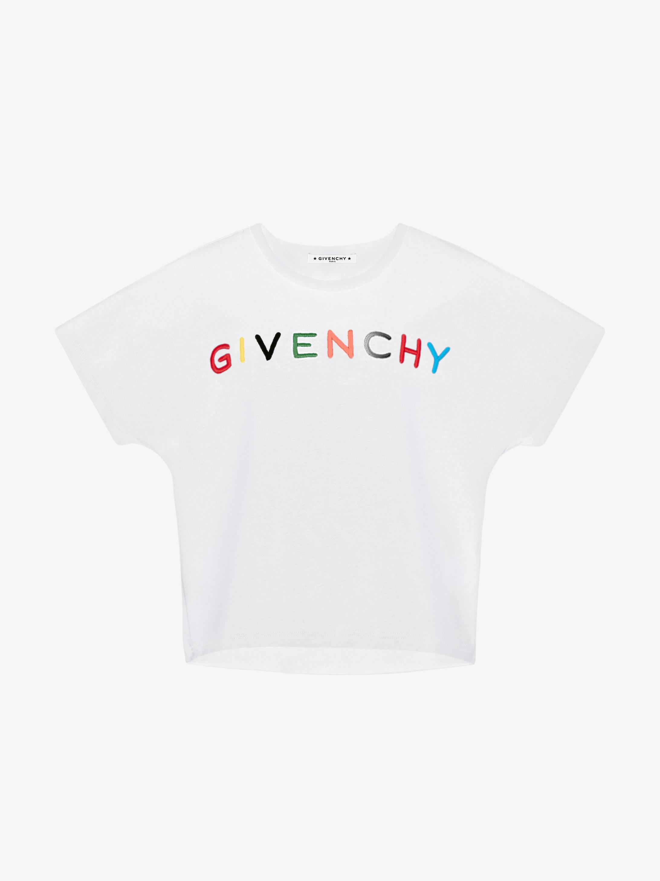 GIVENCHY刺绣T恤
