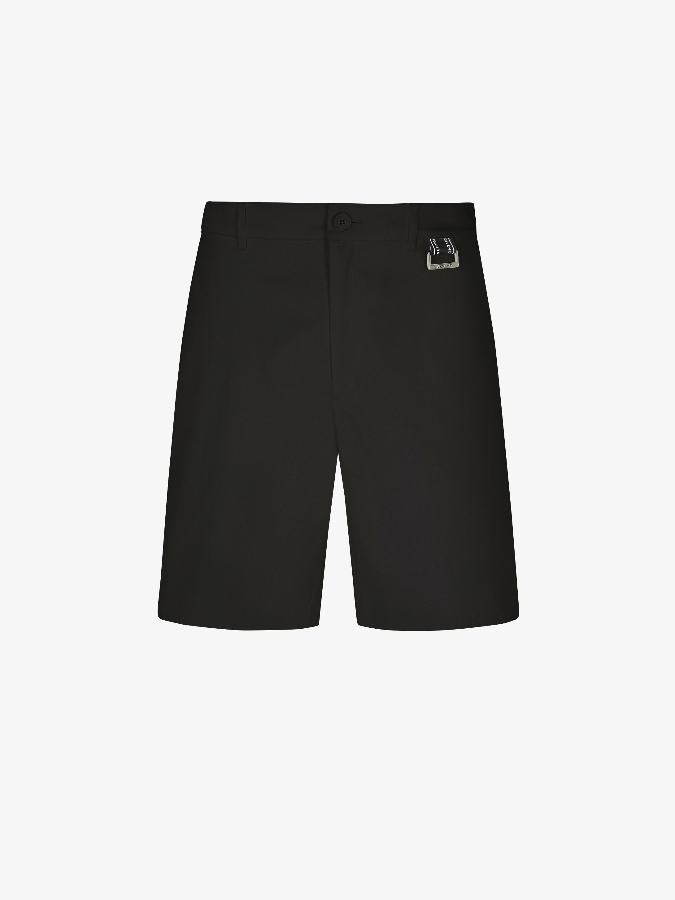 GIVENCHY short pants chino with buckle and band