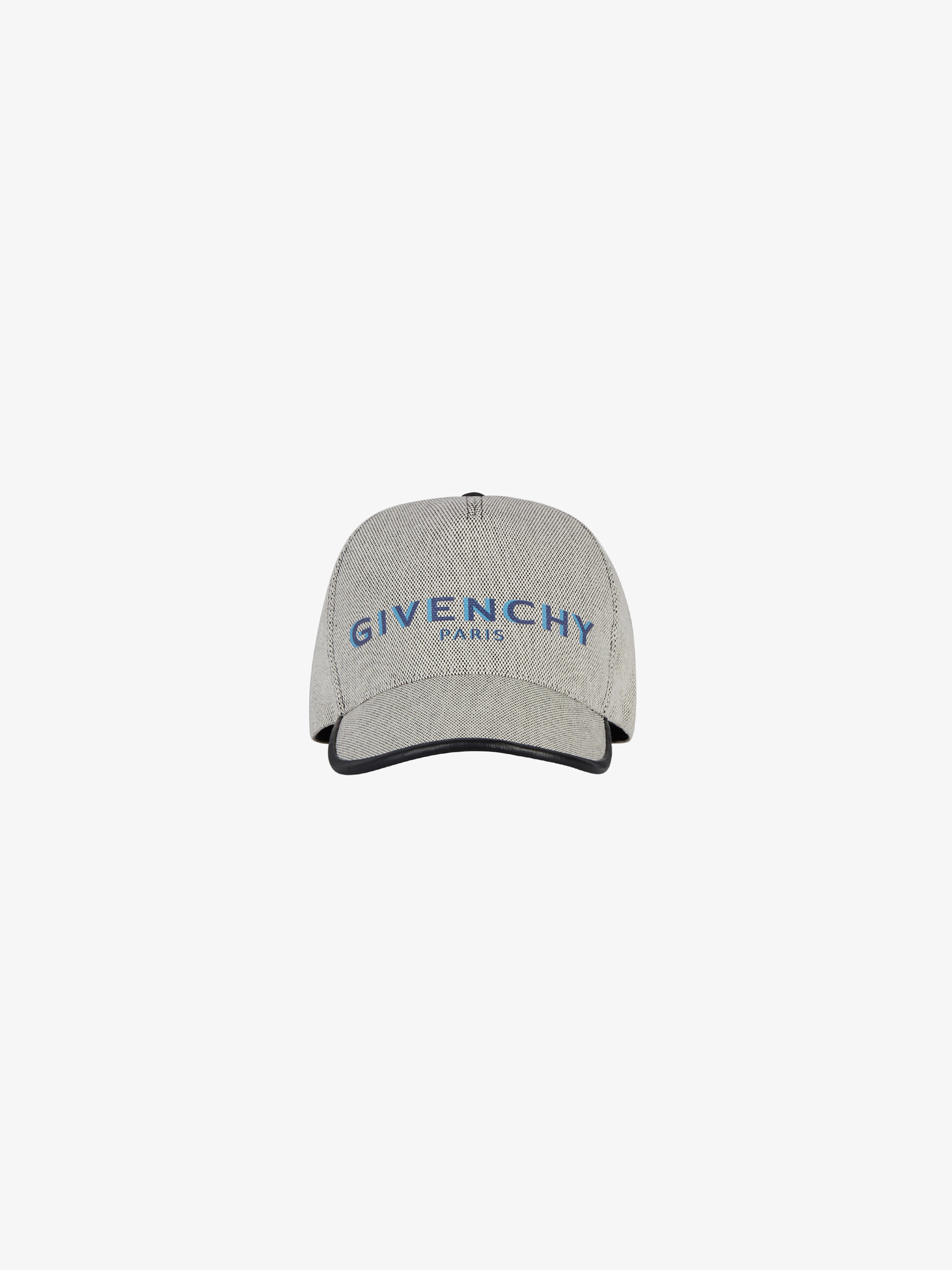 GIVENCHY PARIS cap in canvas and leather