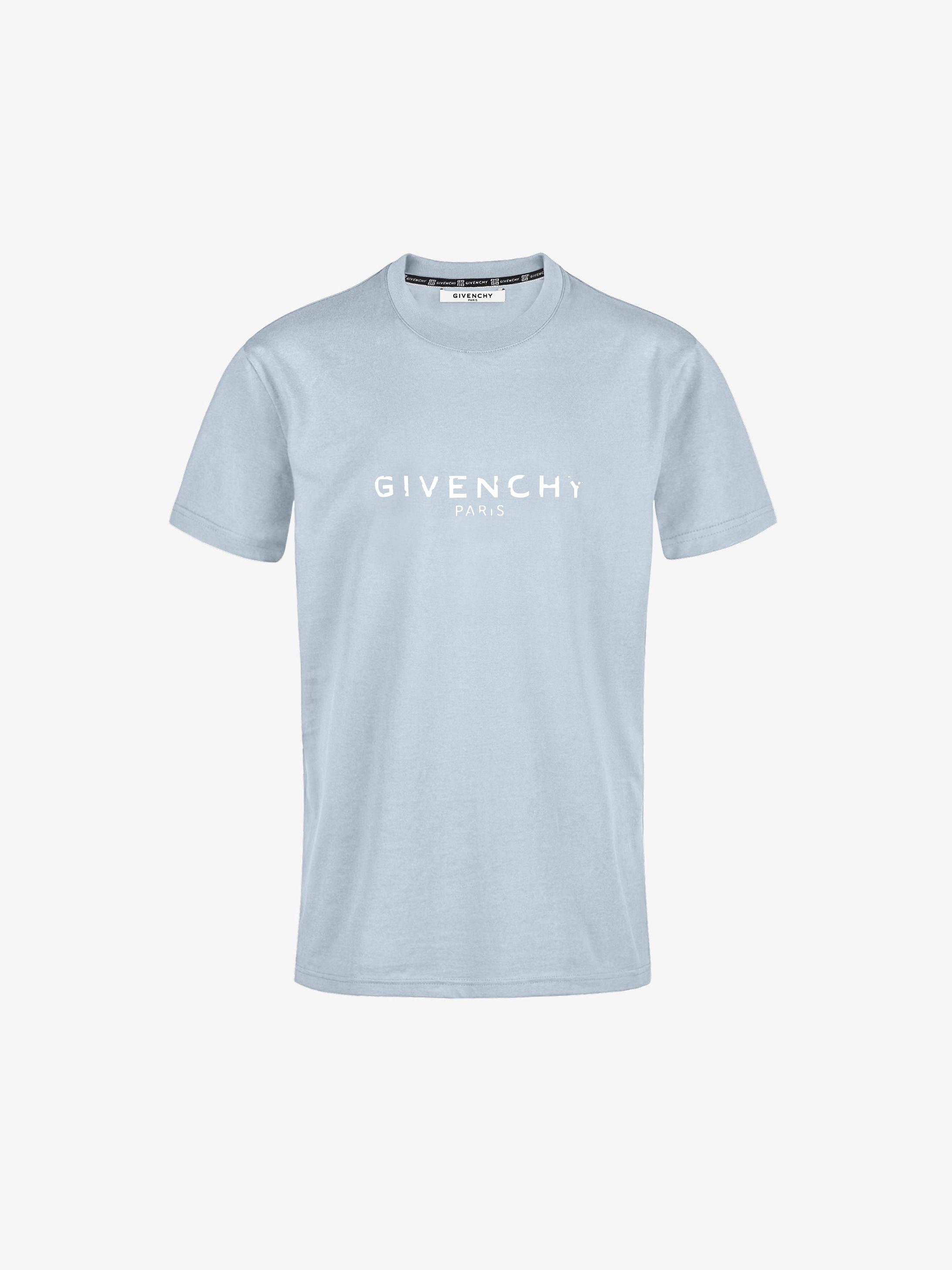 GIVENCHY PARIS vintage slim fit T-shirt