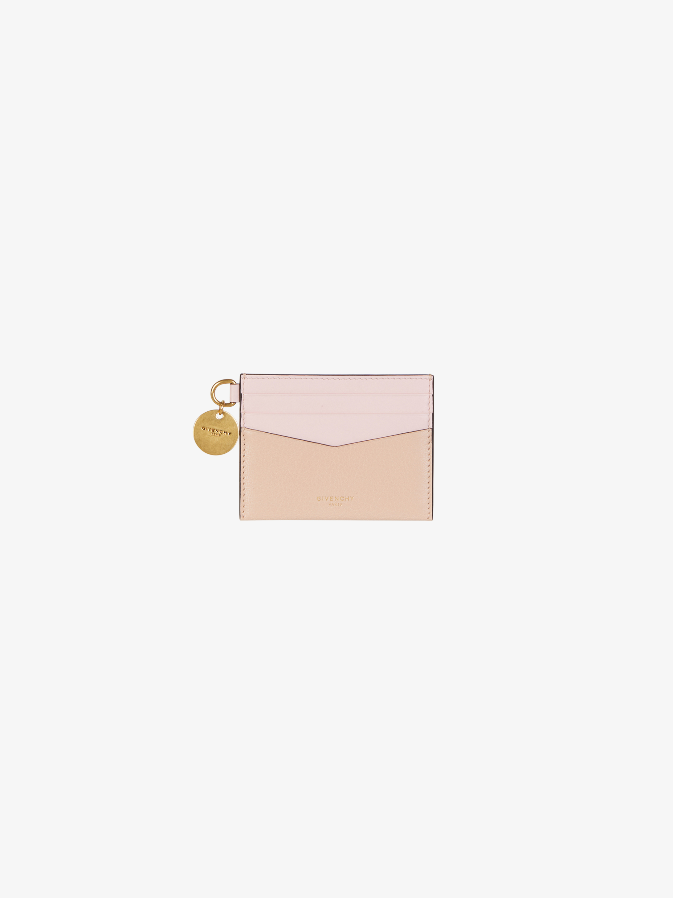 Porte-cartes Edge en cuir bicolore