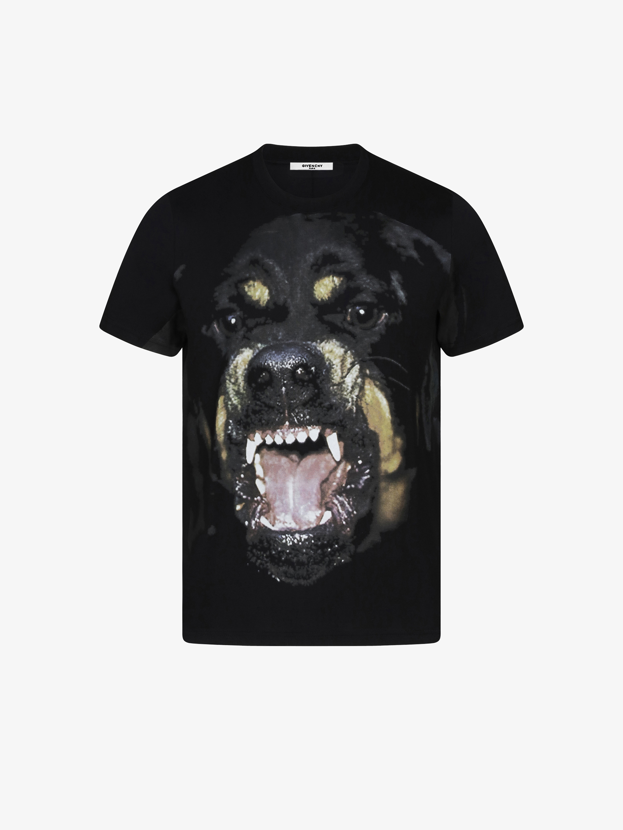 Givenchy Rottweiler Printed T Shirt Givenchy Paris