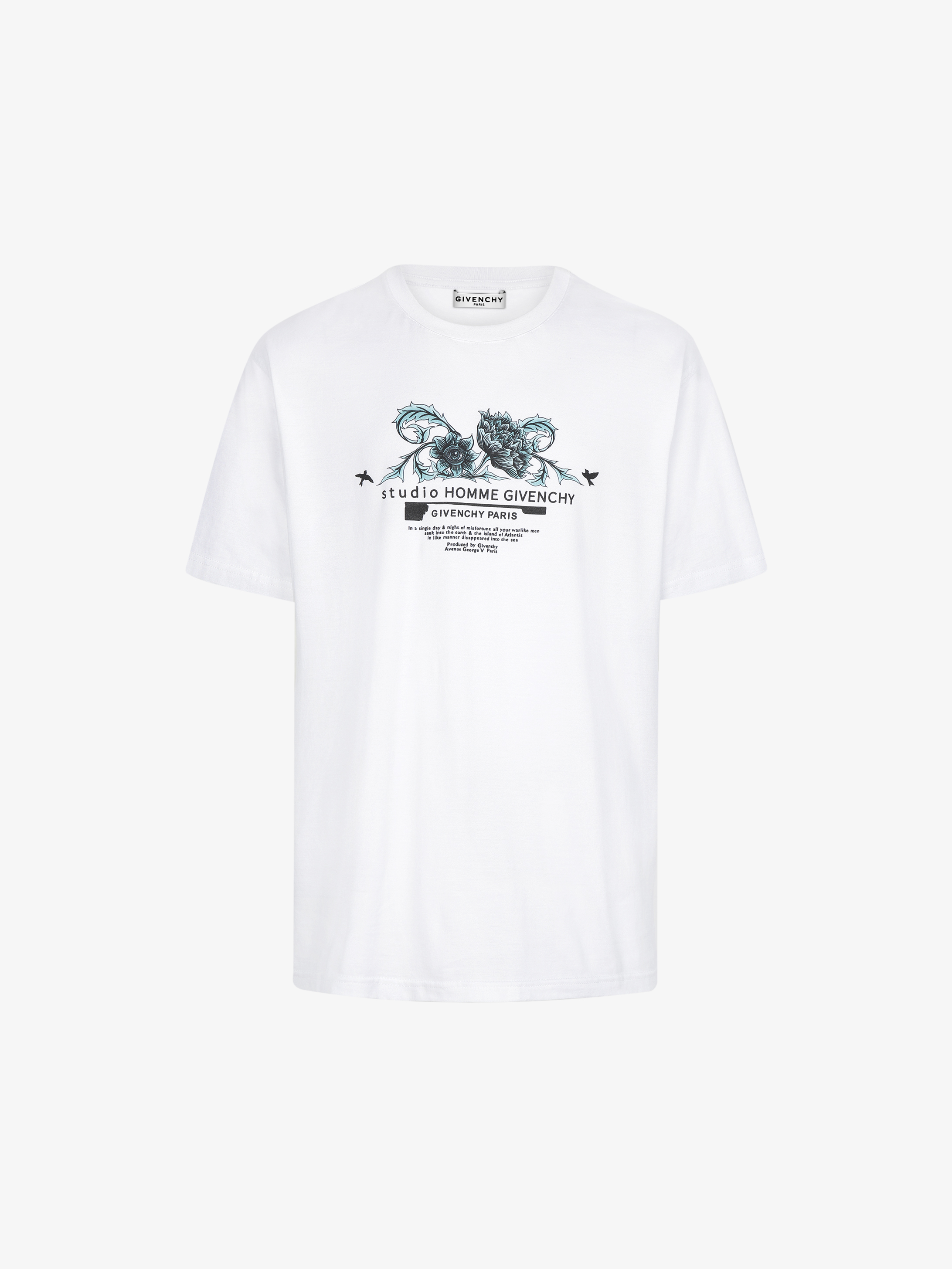 Studio Homme floral printed t-shirt