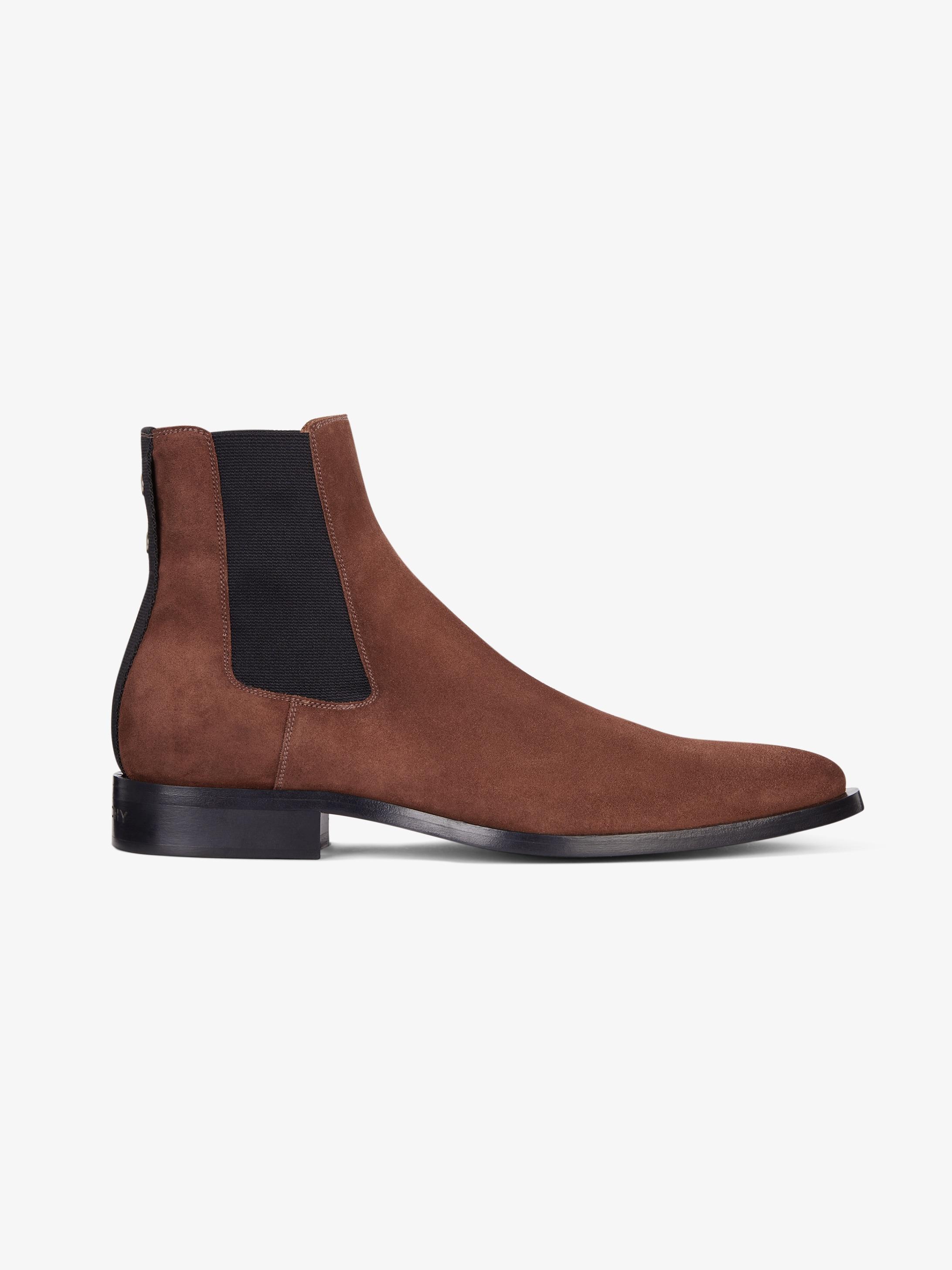Dallas chelsea  boots in suede