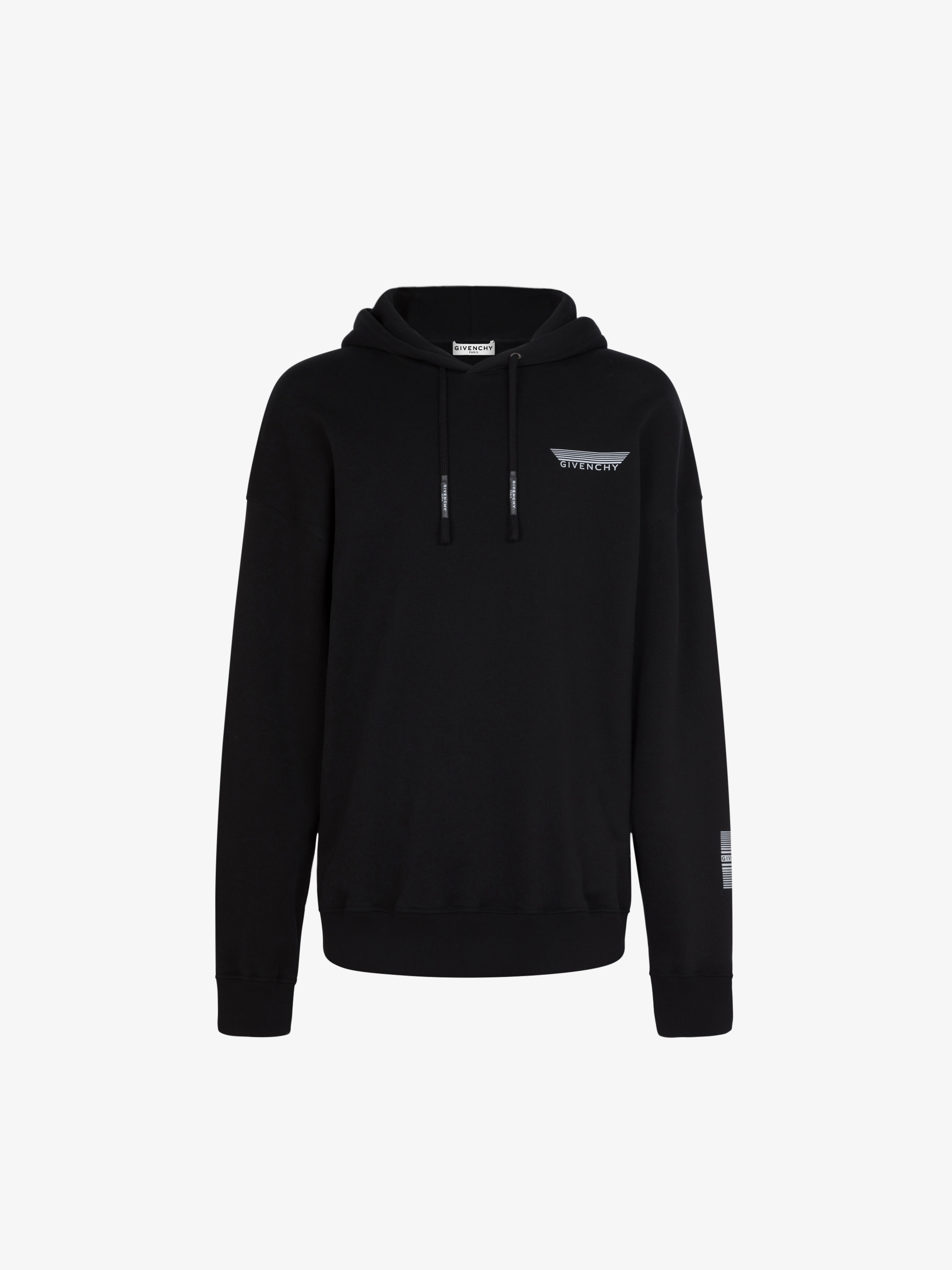 GIVENCHY reflective bands hoodie